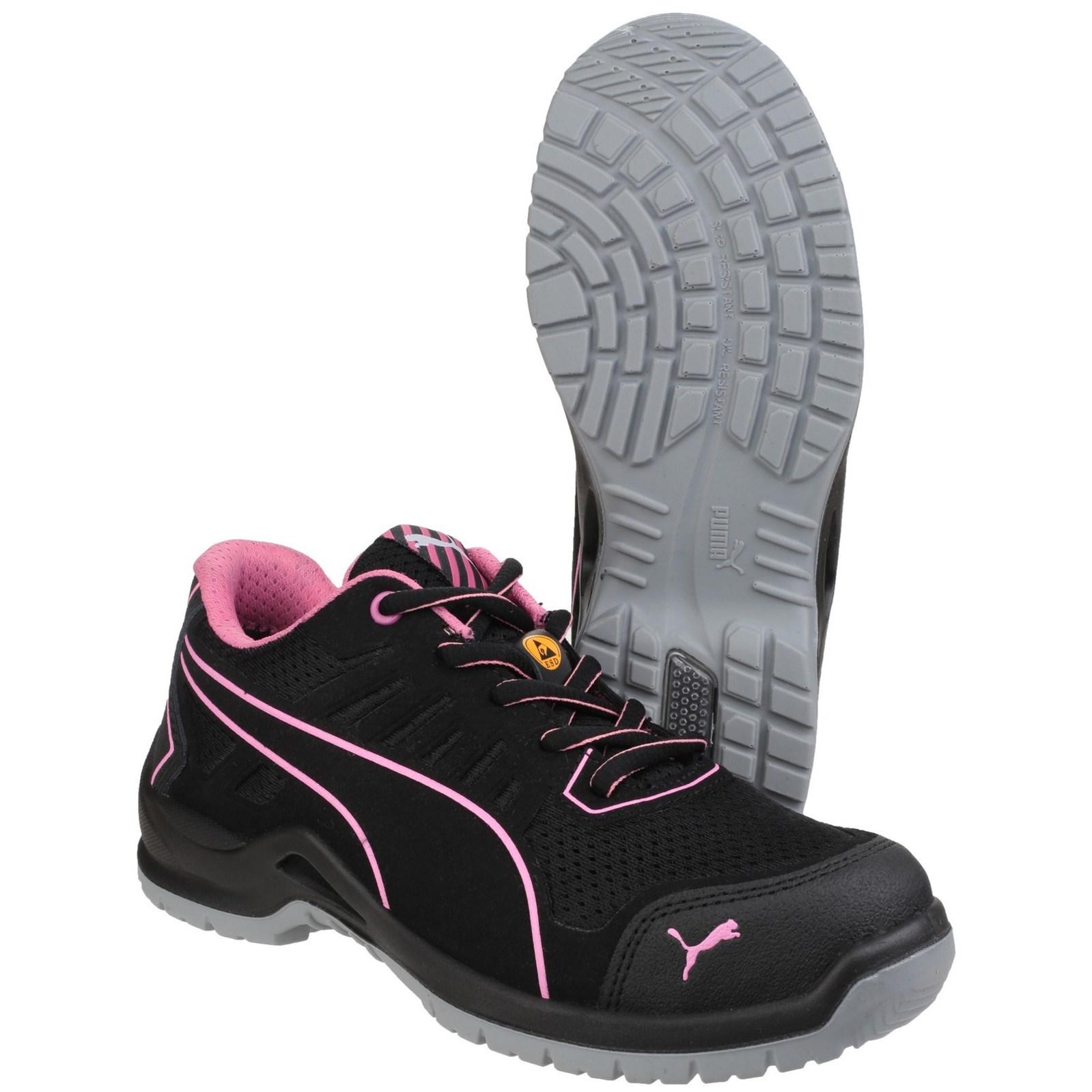 Detalles de Puma Fusible de baja Zapatillas para mujer de seguridad Technic entresuela compuestoPuntera De Acero S1 ver título original