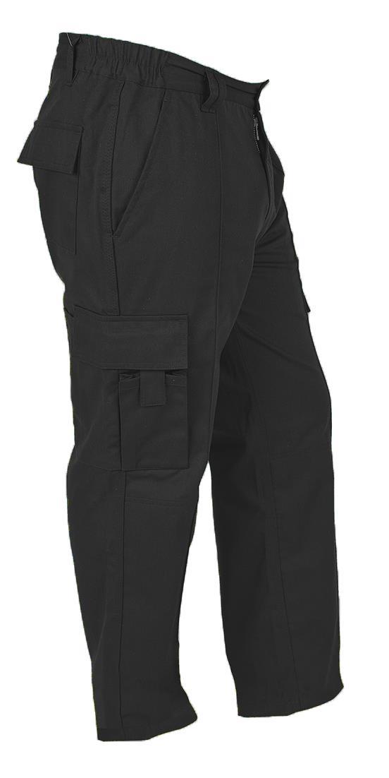 Himalayan Bala Hombres Negro Combate Multi Bolsillos Pantalones De Trabajo Ebay