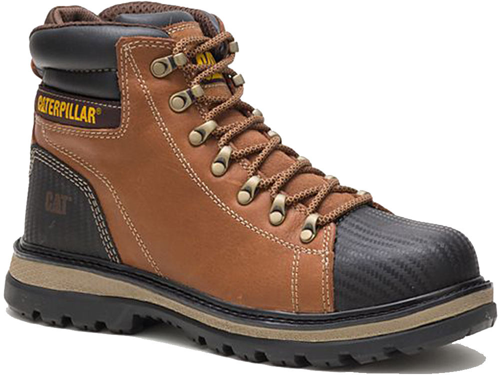 Mens Caterpillar Bearing Steel Toe Midsole S3 WR Safety Work Boots Sizes 7 to 12