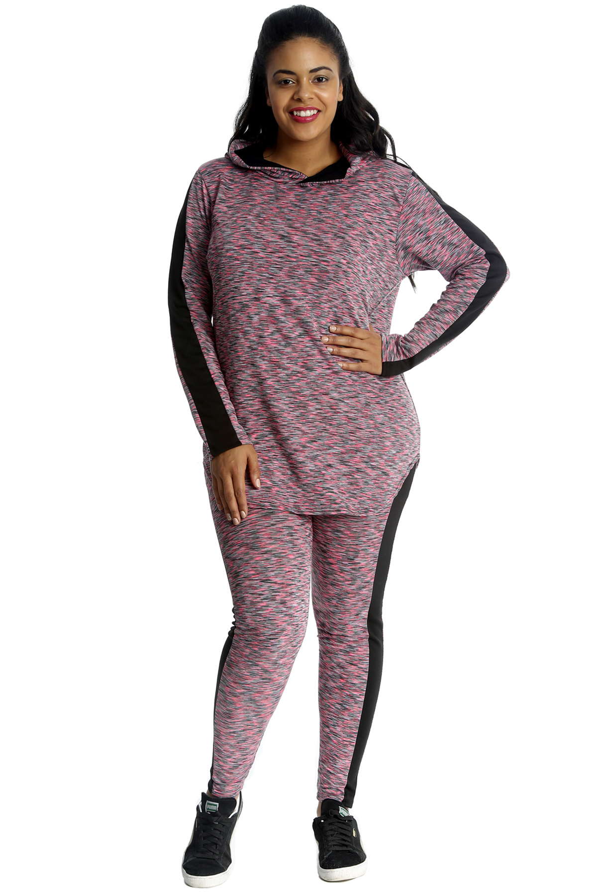 Plus Size Pink Jogging Suit Shop Clothing Shoes Online