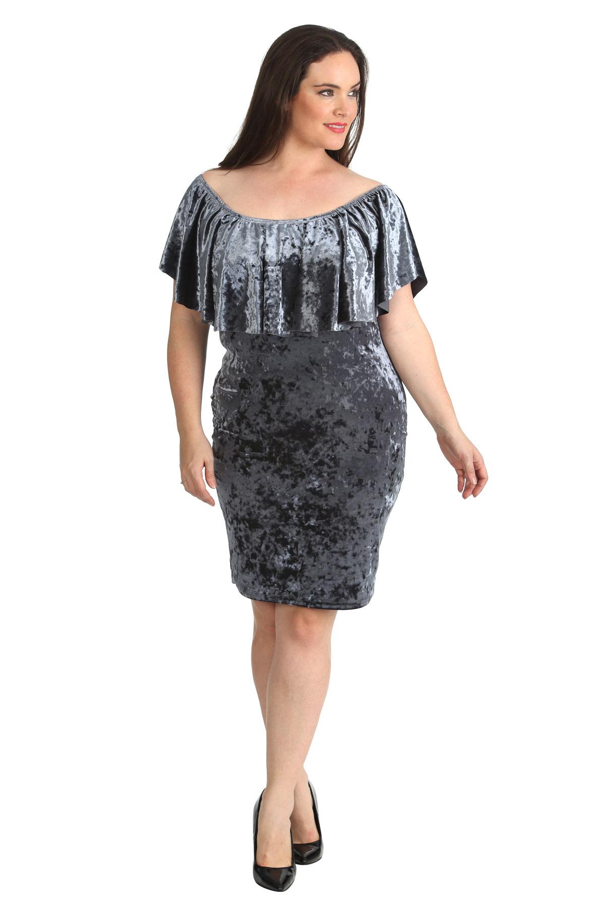 Velvet clothing for women
