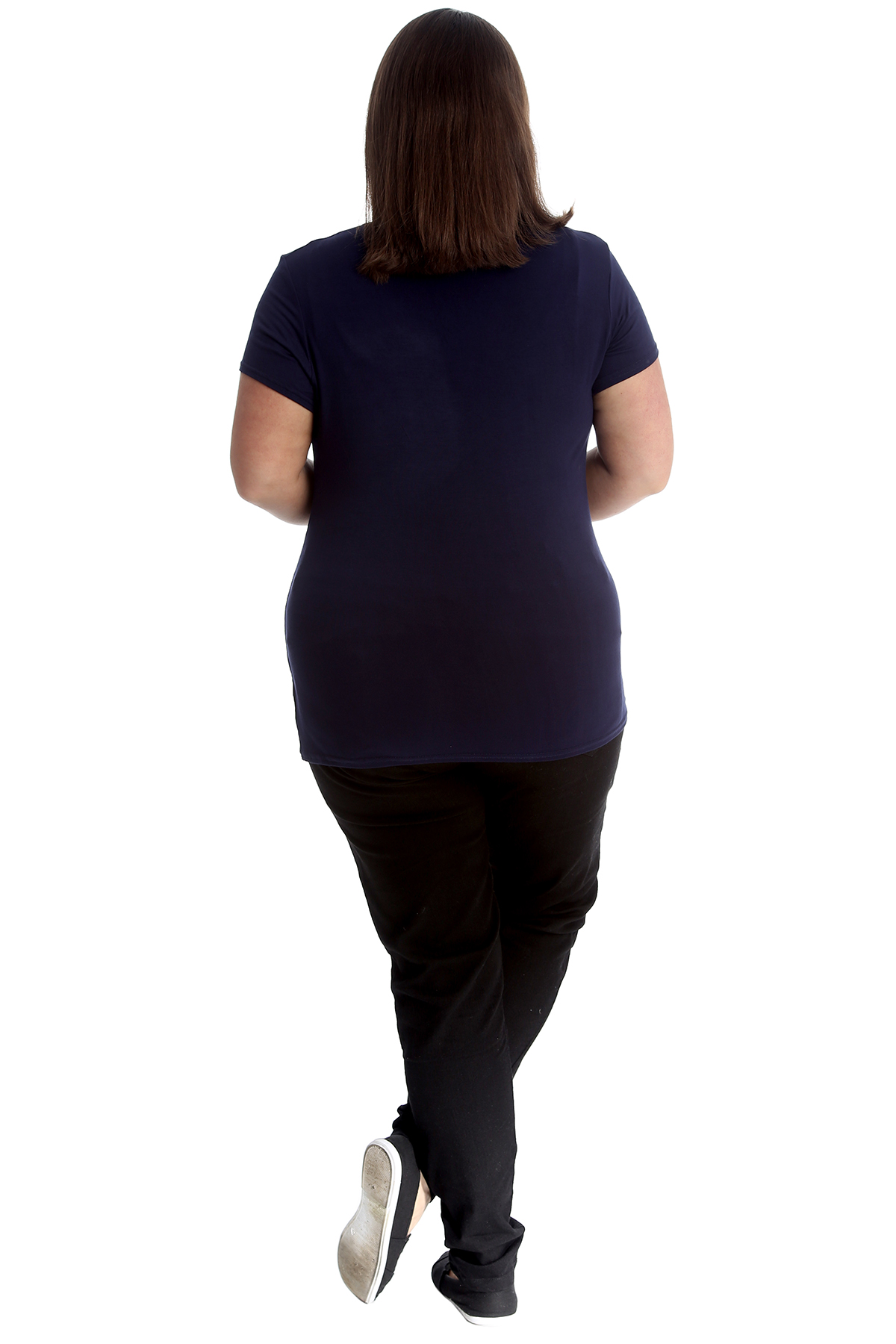 New-Womens-Plus-Size-Top-Ladies-Cherry-Rhinestone-T-Shirt-Soft-Stud-Shiny-Hip thumbnail 34