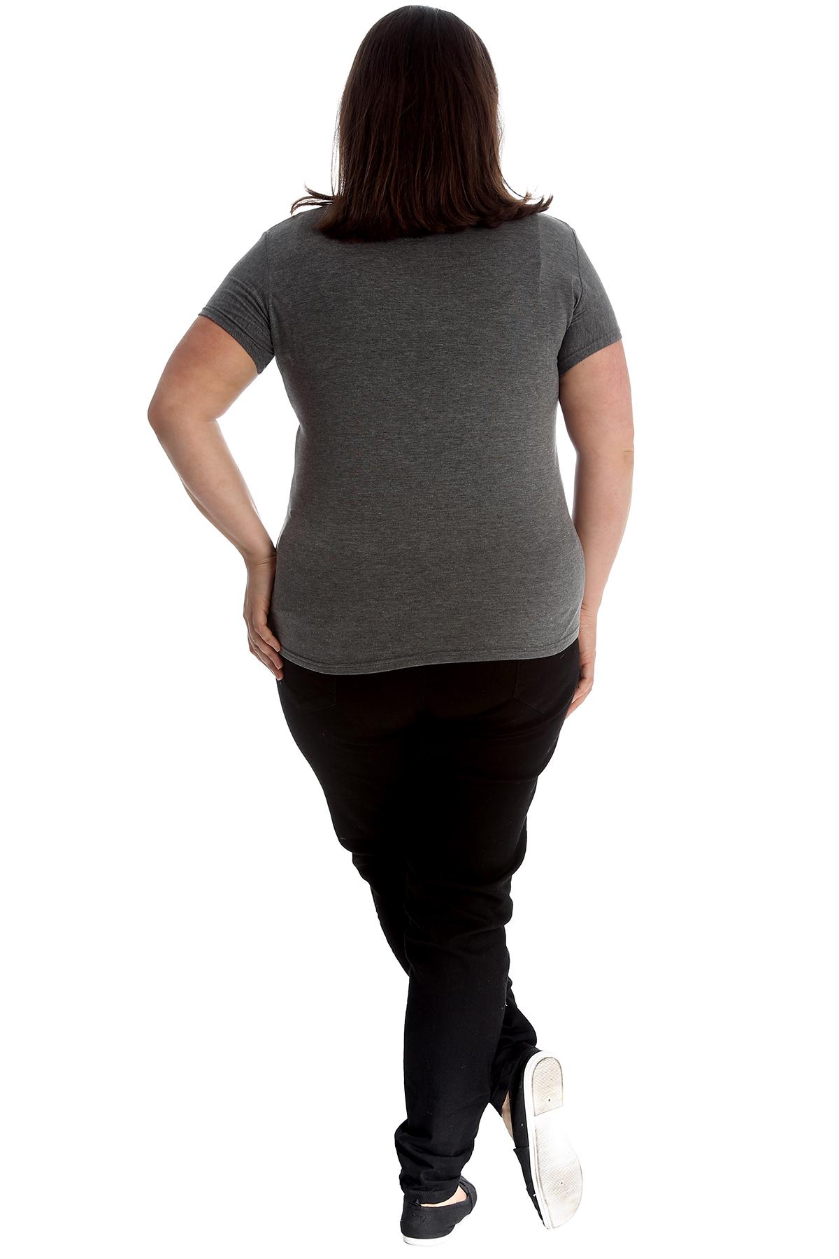 New-Womens-Plus-Size-Top-Ladies-Cherry-Rhinestone-T-Shirt-Soft-Stud-Shiny-Hip thumbnail 26