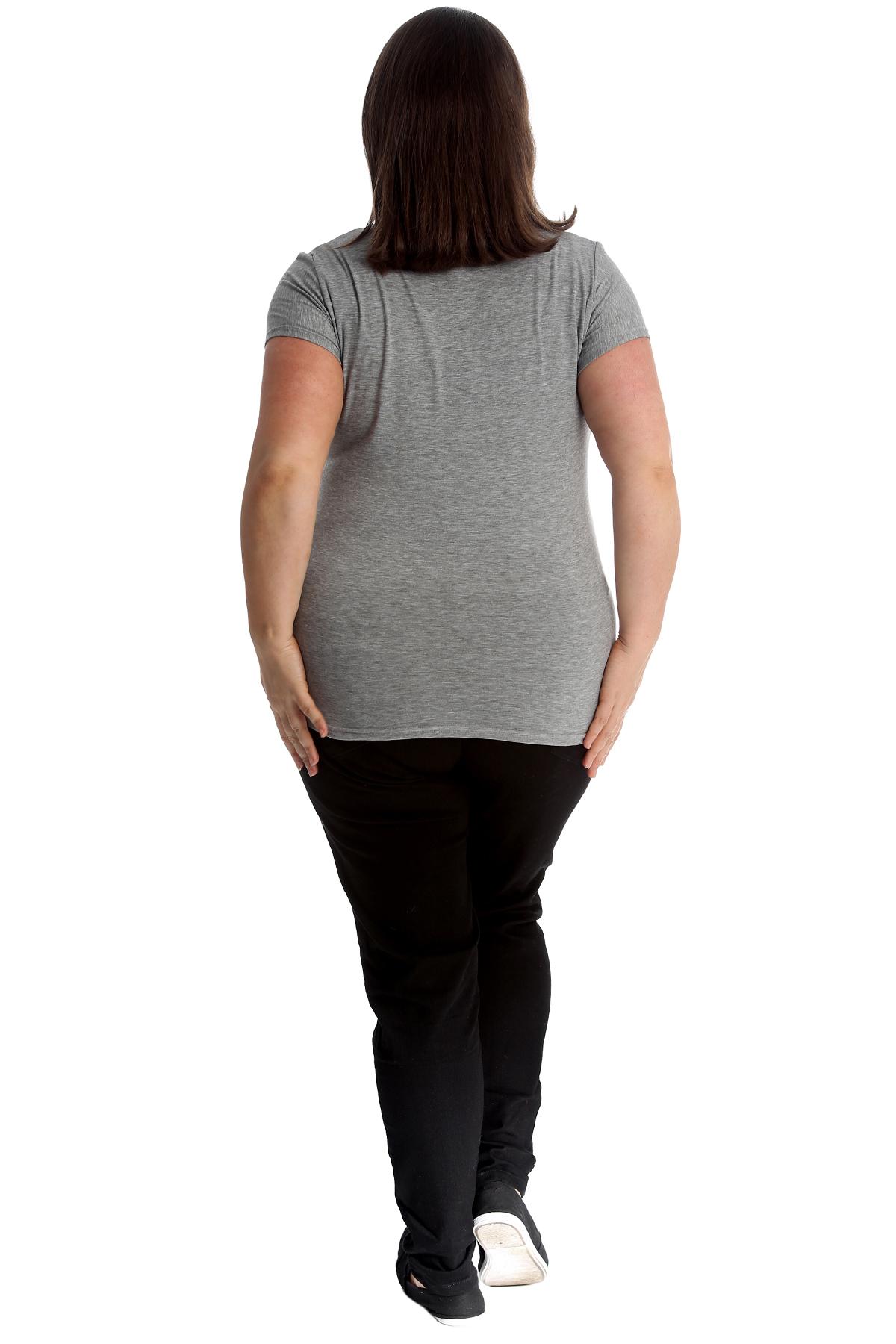 New-Womens-Plus-Size-Top-Ladies-Cherry-Rhinestone-T-Shirt-Soft-Stud-Shiny-Hip thumbnail 30