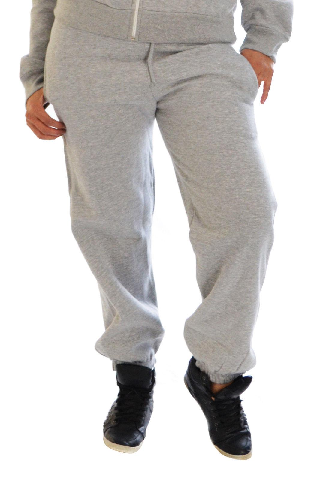 Womens Ladies Plus Size Joggers Fleece Tracksuit Jogging Bottoms Pants Nouvelle