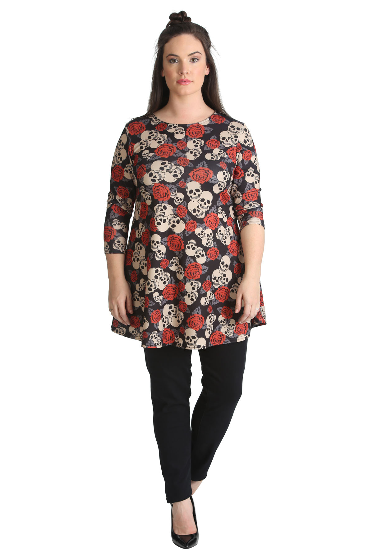 Find great deals on eBay for plus size skull top. Shop with confidence.