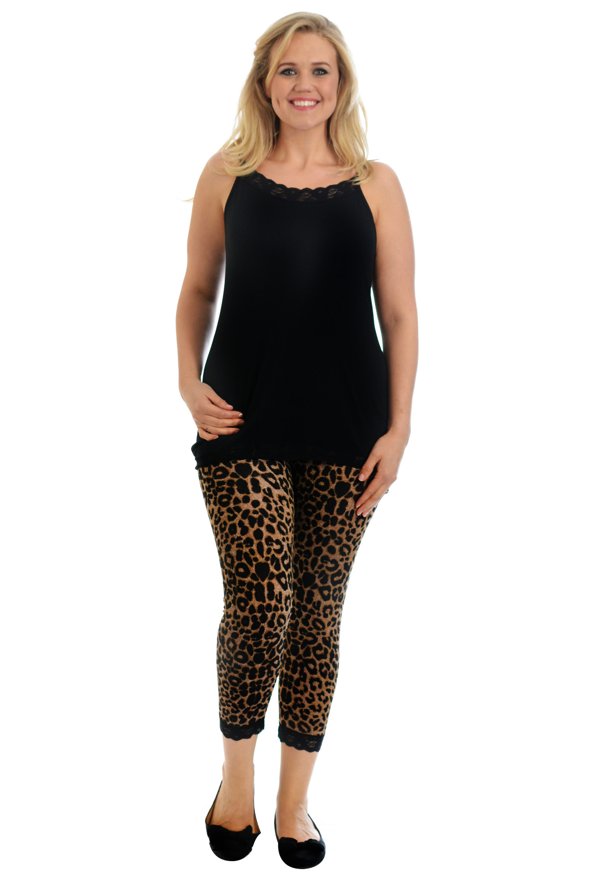 Plus size lace leggings - results from brands NYTEEZ, Just My Size, Bebe, products like HUE Lace Trim Shorts at Nordstrom Rack, Klutch NCAA Iowa State Cyclones Girls Toddler Ruffle Set, 5T, Red, Comfortview Neo Booties by - Women's Plus Size Clothing,