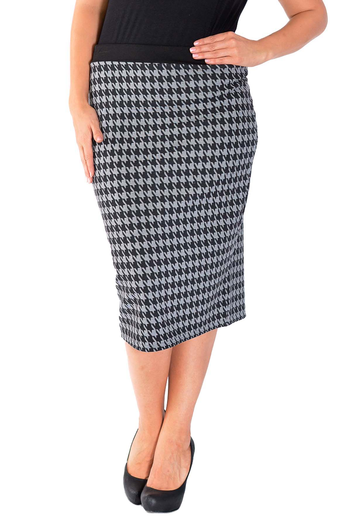 Skirts with Elastic Waist. invalid category id. Skirts with Elastic Waist. Showing 8 of 8 results that match your query. A fitting yet comfortable floral multicolor pencil skirt in a fitted style with a high waisted band. Perfect for casual wear. Sold & Shipped by New MOA Collection.