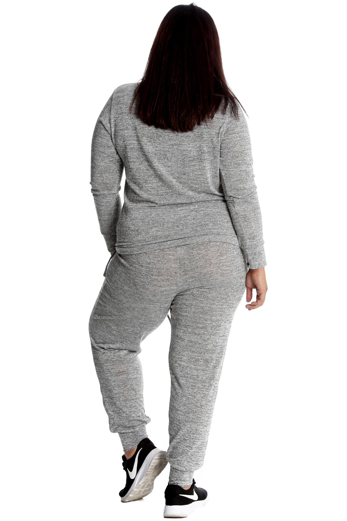 Nouvelle Ladies Plus Size Tracksuit Set