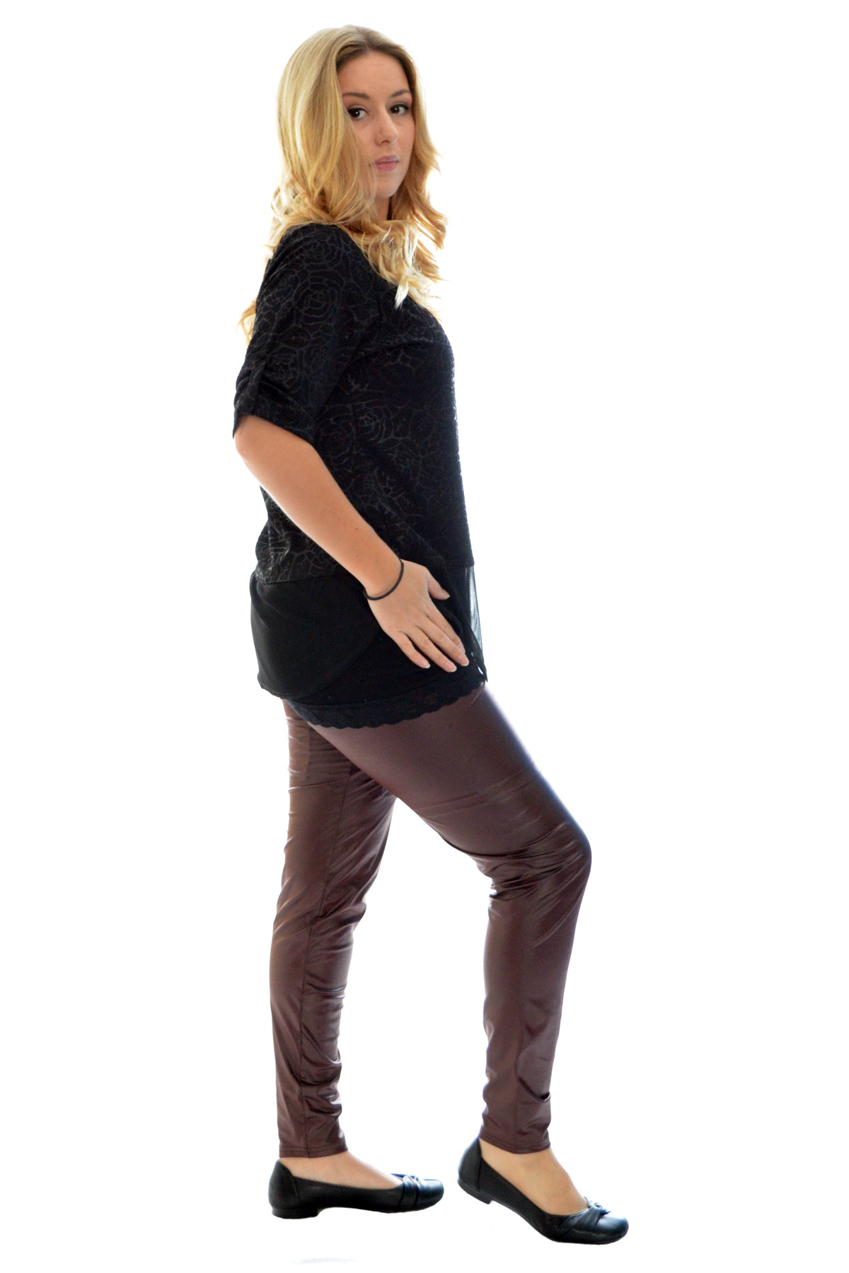 Women In Latex Pants 61