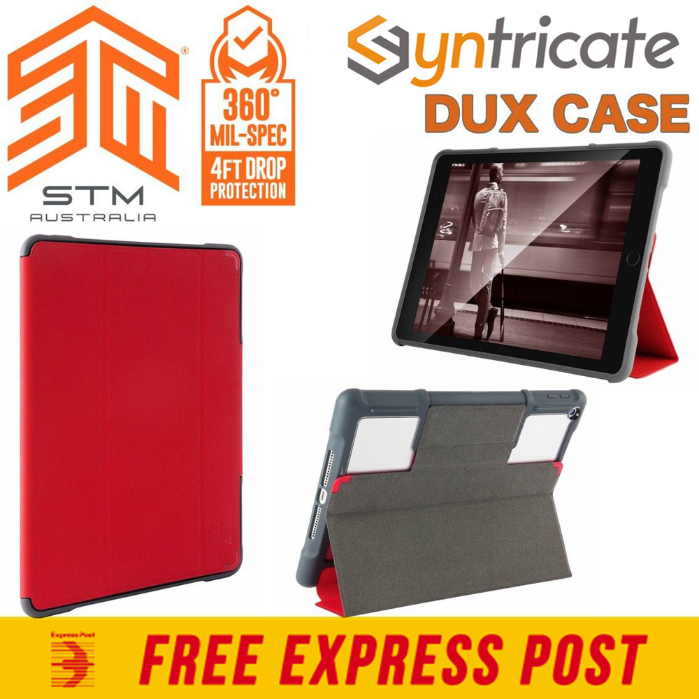 Stm Dux Rugged Tough Military Std Folio Case For Ipad 9 7