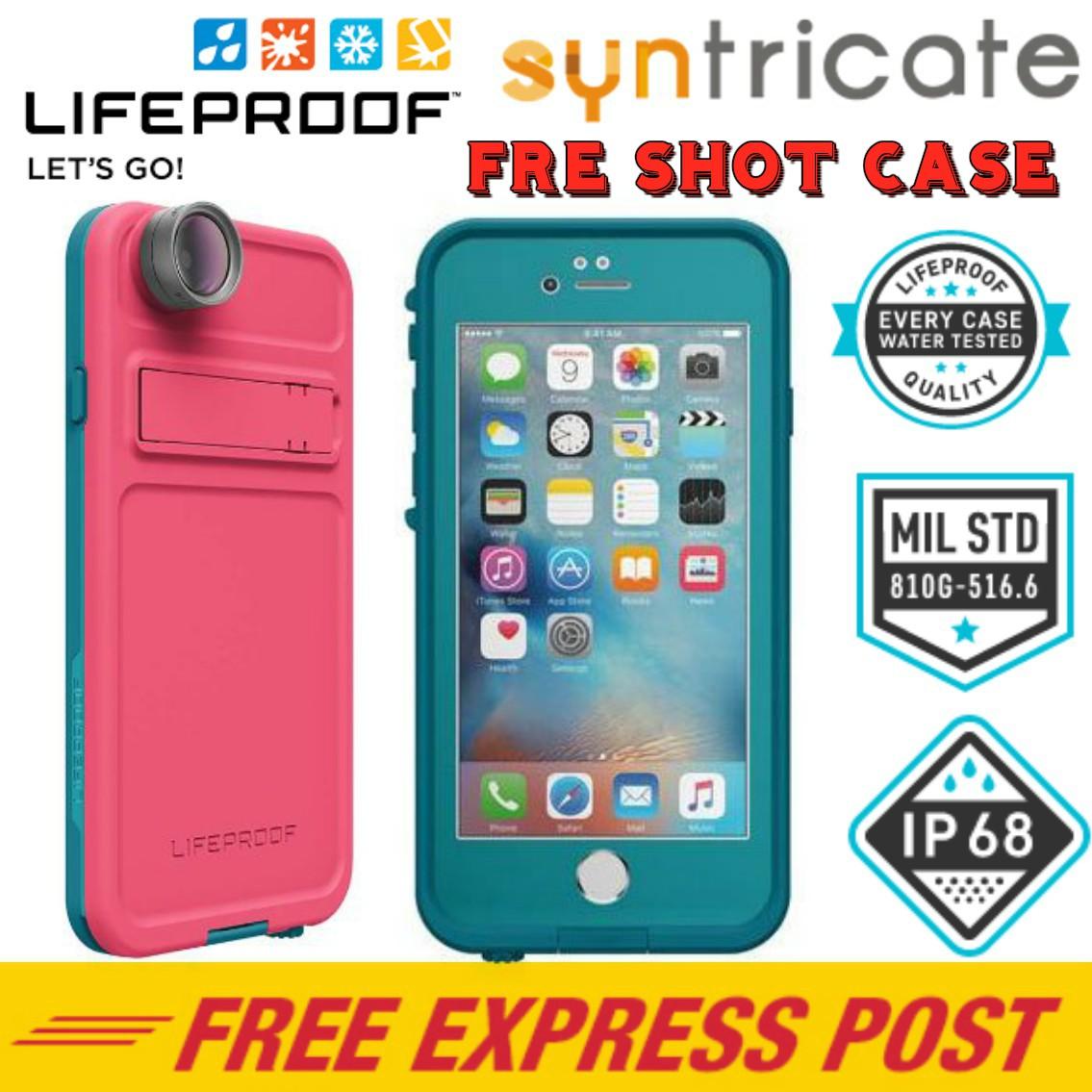 Lifeproof Fre Shot Waterproof Case For Iphone 6s6 Cruz Ebay