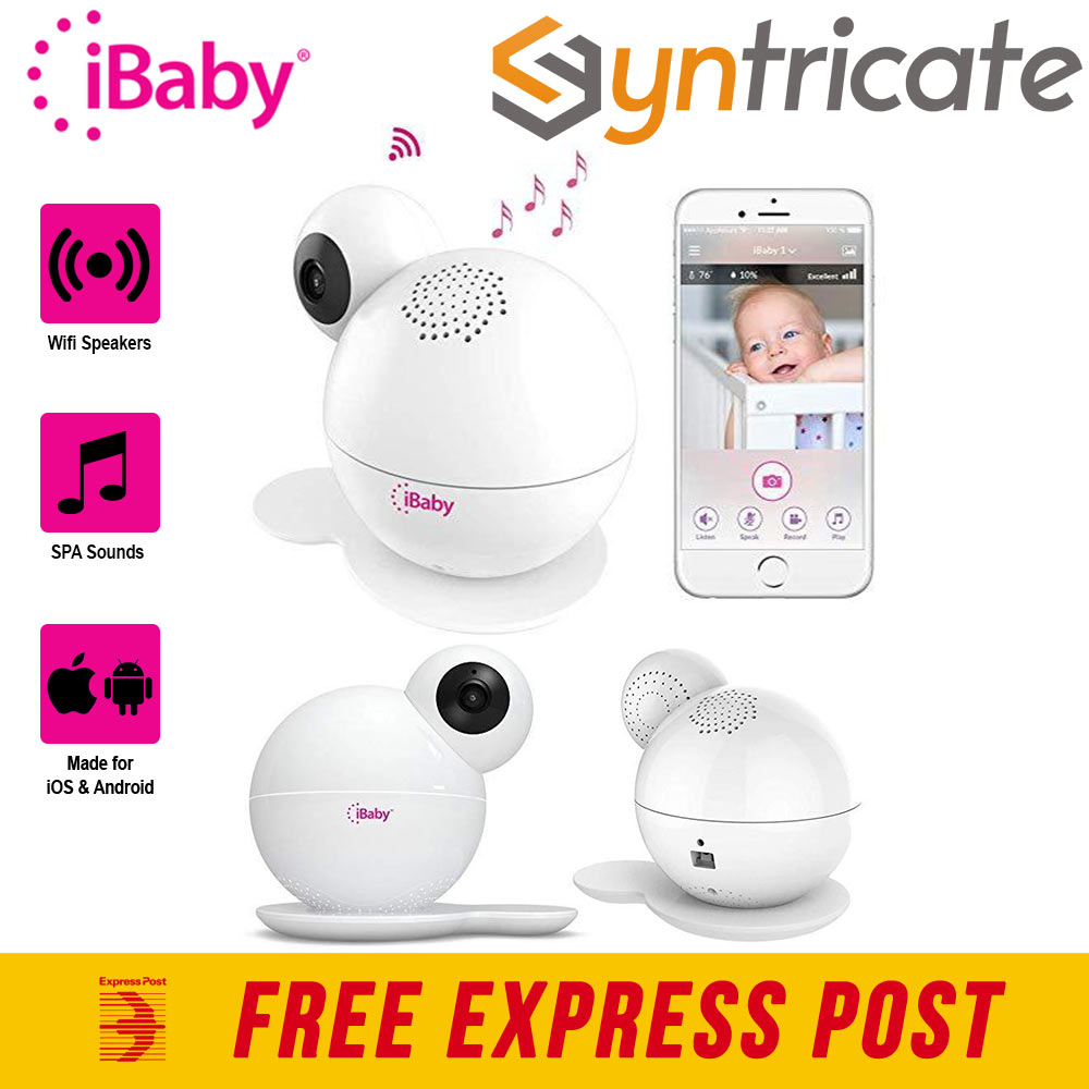 IBABY CARE M7 LITE WIFI BABY MONITOR FOR IOS & ANDROID SMART
