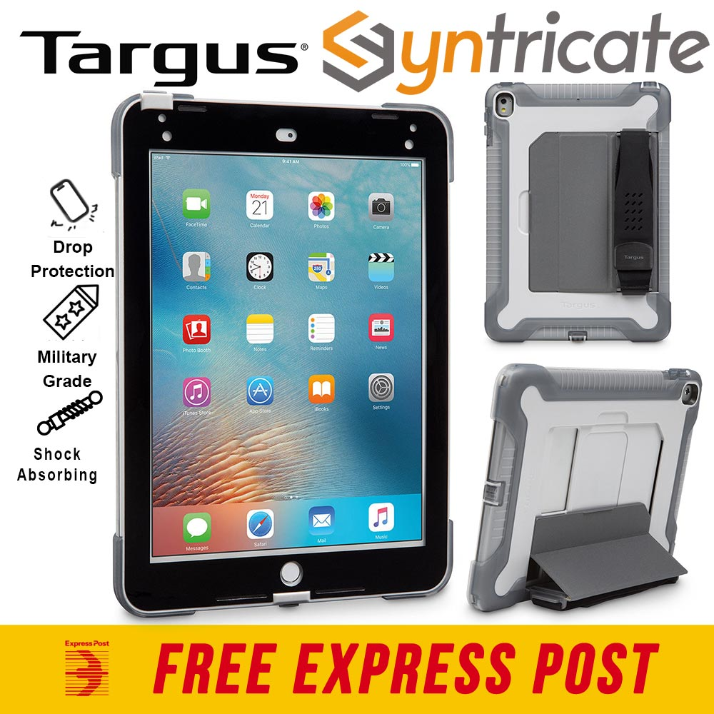 on sale f0b88 1e429 Details about TARGUS SAFEPORT RUGGED TOUGH CASE FOR iPAD 9.7 (6TH/5th  Gen)/Pro 9.7/Air 2 -GREY