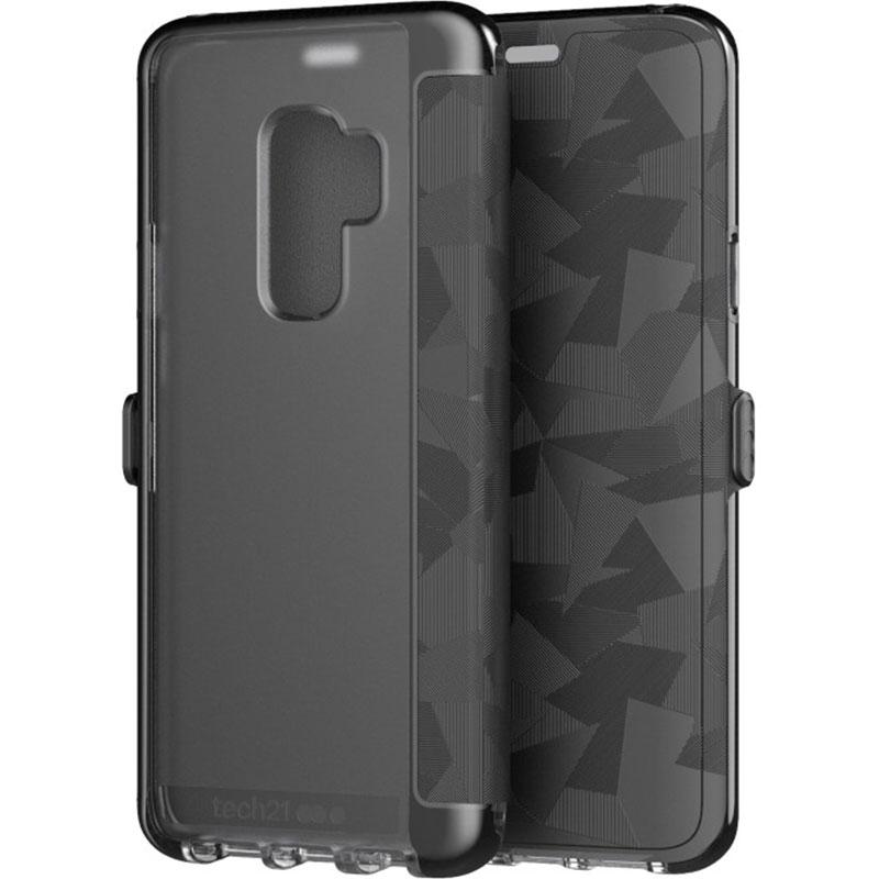 sale retailer d2707 b97d1 TECH21 EVO WALLET CARD FOLIO TOUGH CASE FOR GALAXY S9 PLUS - BLACK ...