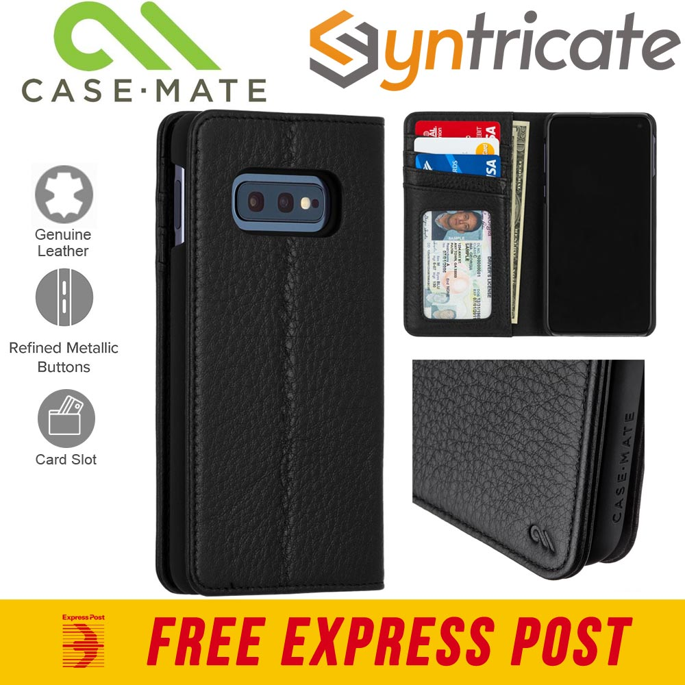 huge selection of 63454 564d1 CASEMATE WALLET FOLIO CASE FOR GALAXY S10E (5.8-INCH) - BLACK ...