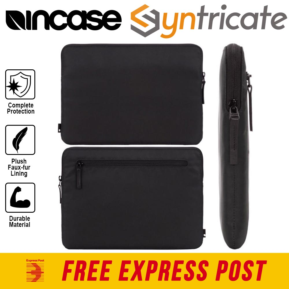 newest f5b42 5184f Details about INCASE COMPACT SLEEVE FOR MACBOOK PRO 13 INCH (USB-C)/PRO  RETINA DISPLAY - BLACK
