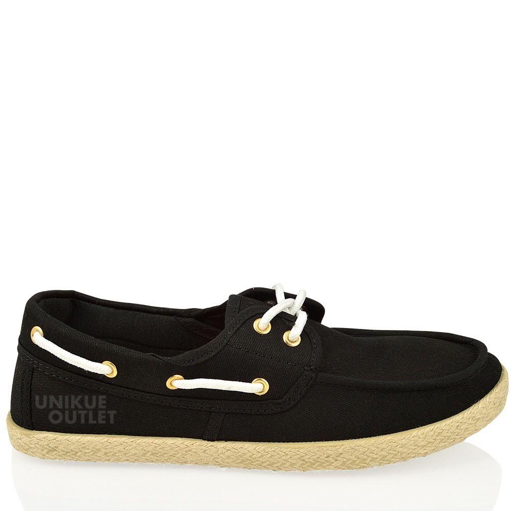 Ladies Leather Pump Deck Shoes