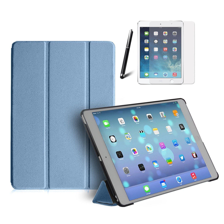 premium smart case for apple ipad air front back. Black Bedroom Furniture Sets. Home Design Ideas