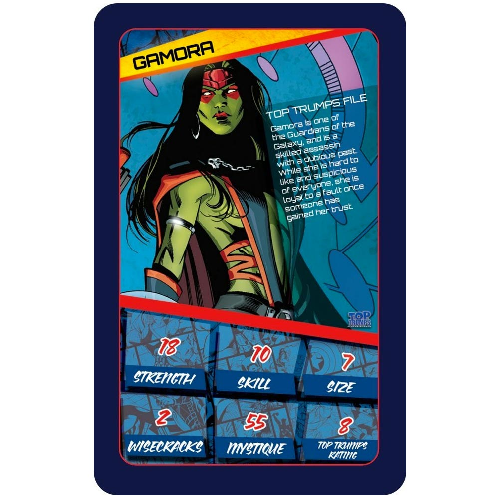 what is top trumps game