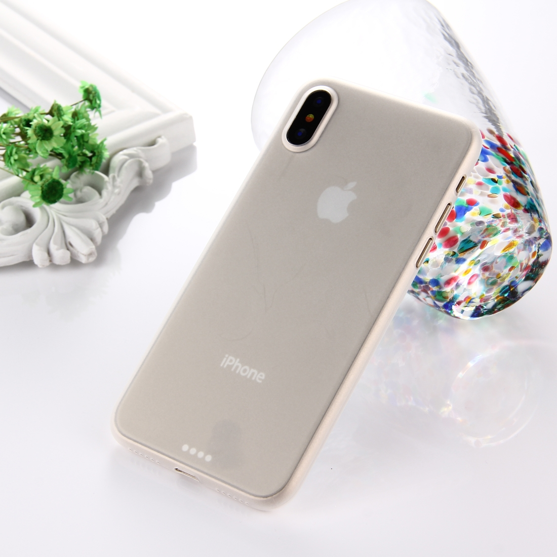 Ultra-Thin-Case-0-3mm-for-iPhone-XS-X-Super-Slim-Hard-Protective-Cover-New-Desi miniatuur 3