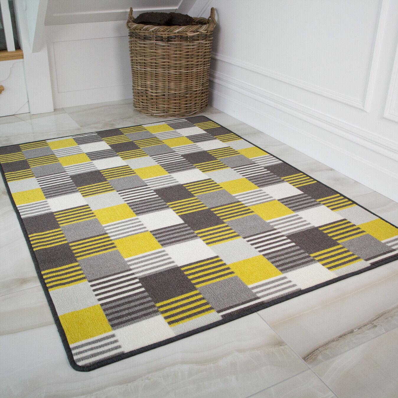 Bon Marché Anti Glisse Lavable Cuisine Jaune salon table grand tapis tapis