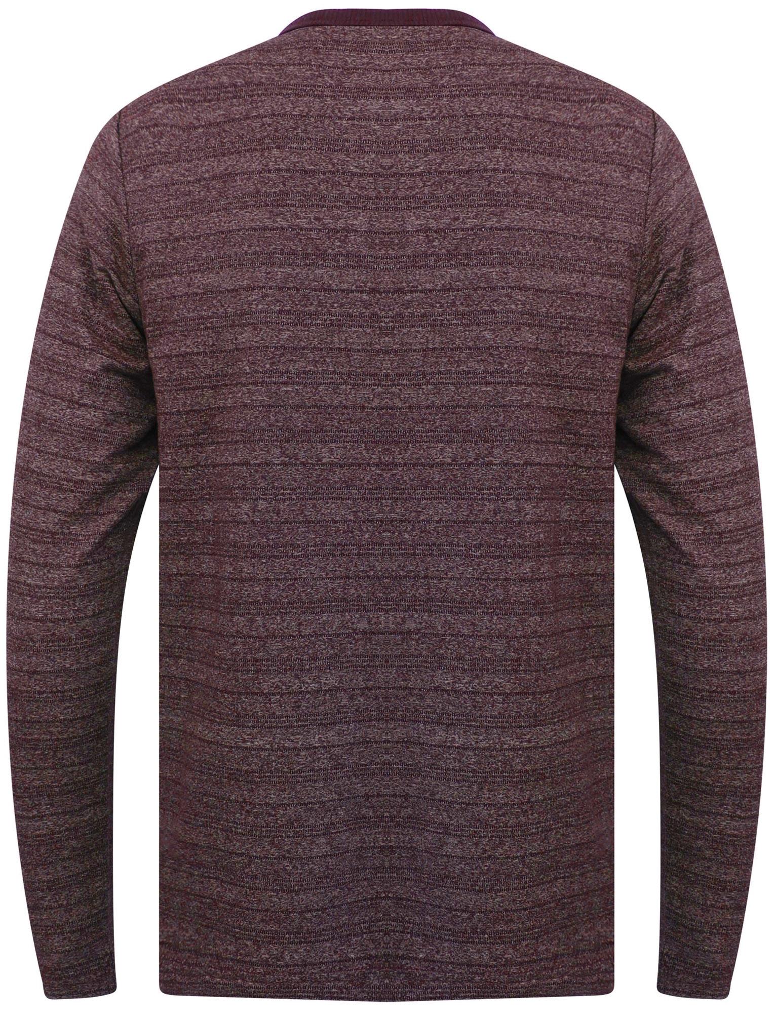 Tokyo-Laundry-Men-Hoaden-Crew-Neck-Long-Sleeve-T-Shirt-Top-Henley-Grandad-Collar thumbnail 8