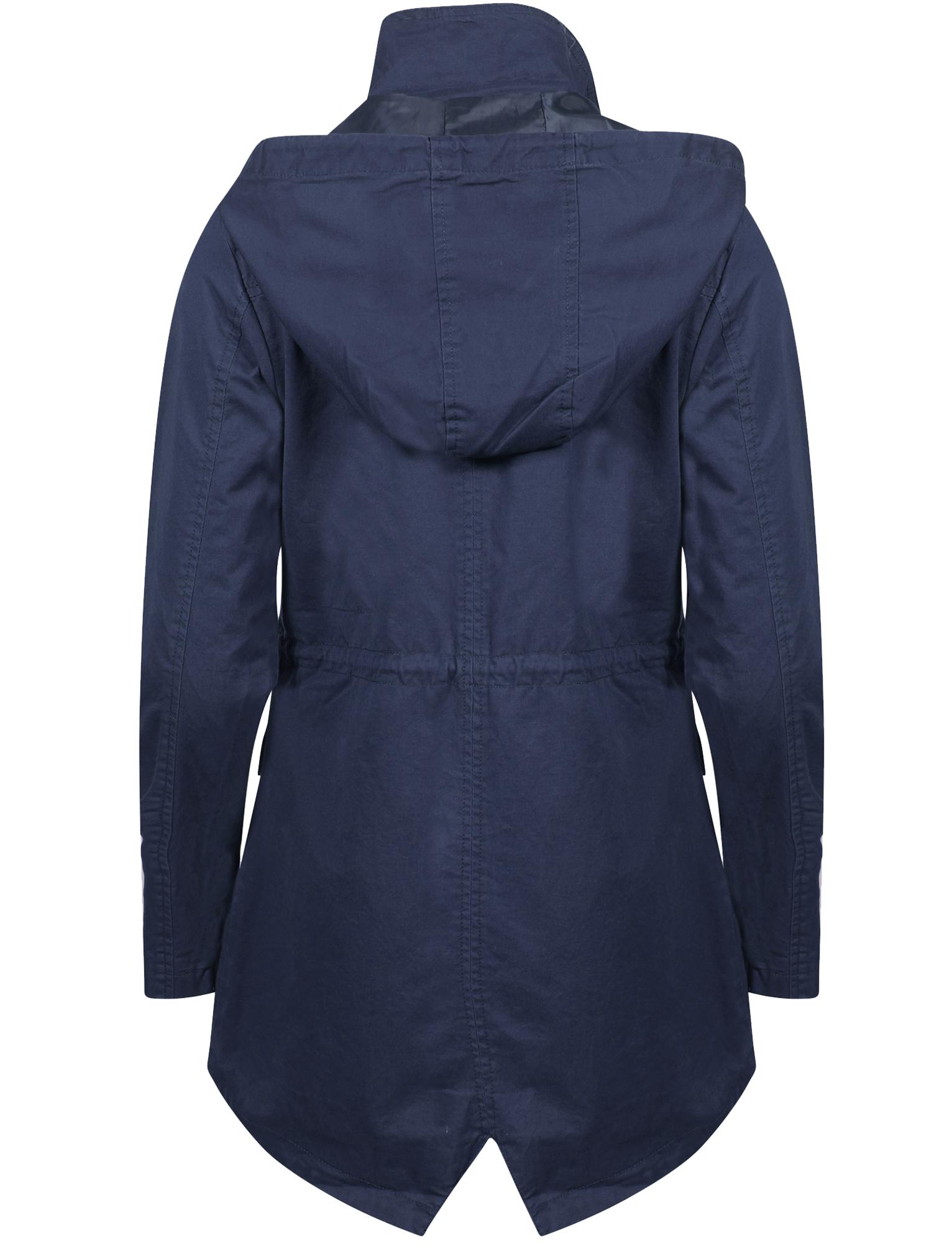 Womens-Tokyo-Laundry-Latitude-Cotton-Hooded-Light-Weight-Parka-Jacket-Size-8-16 thumbnail 3