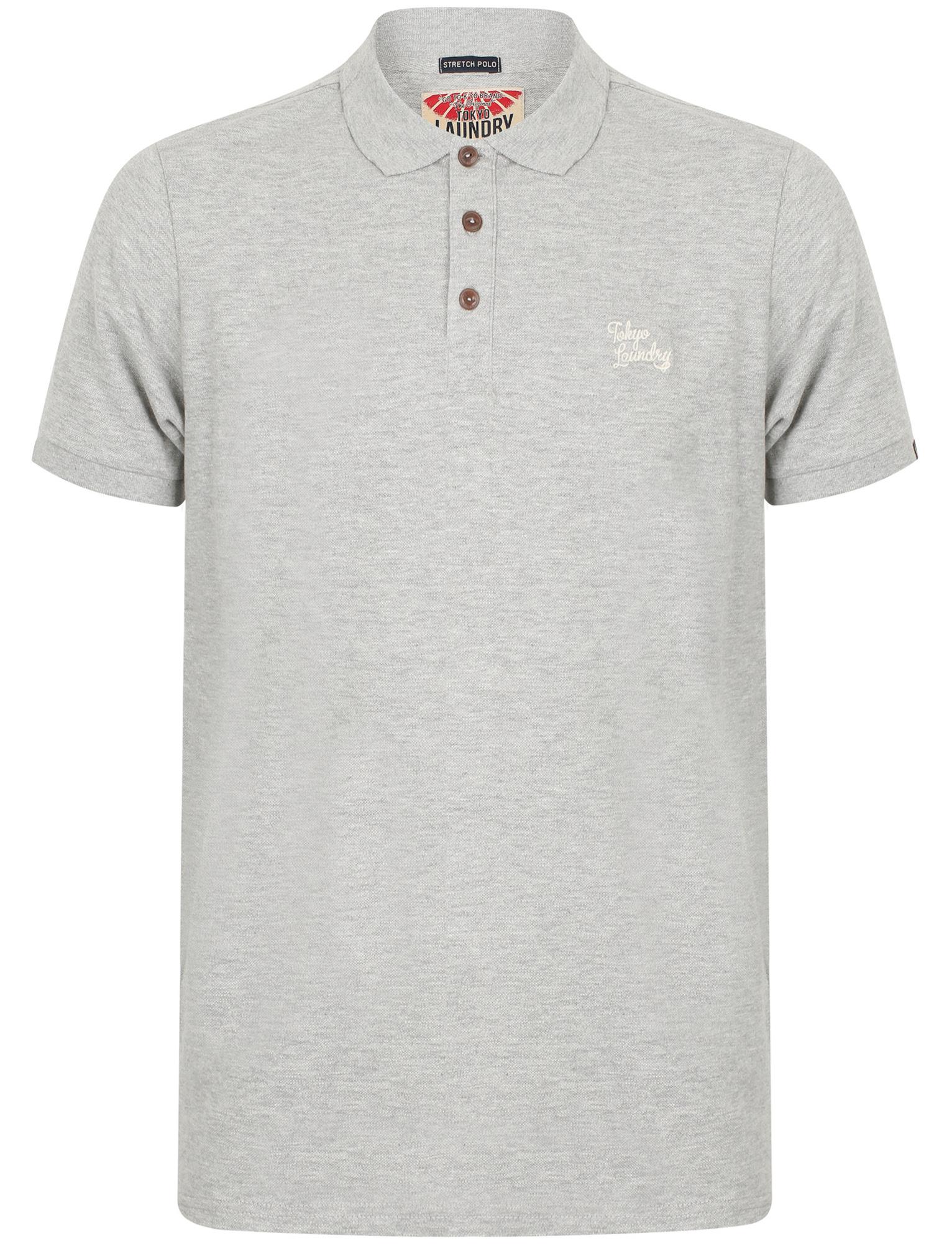 Para-Hombre-Tokyo-Laundry-Algodon-Clasico-Informal-Mangas-Cortas-Camisa-Polo-Tallas-S-XXL