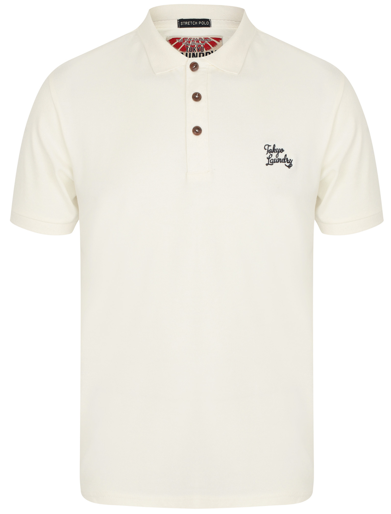 Mens-Tokyo-Laundry-Cotton-Classic-Casual-Short-Sleeve-Polo-Shirt-Top-Size-S-XXL thumbnail 5