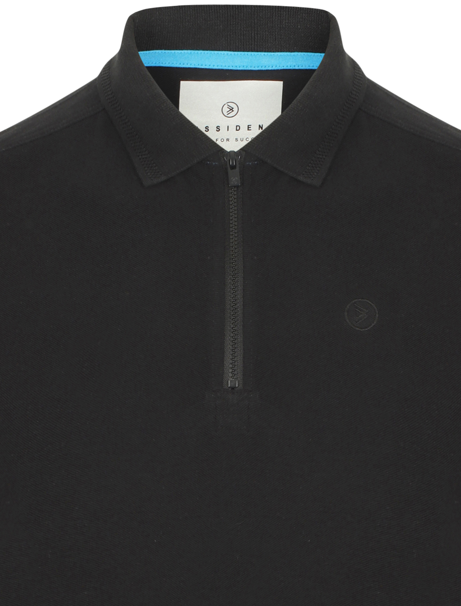 Dissident-Men-039-s-Fusa-Zip-Collar-Polo-Shirt-100-Pique-Cotton-T-Shirt-Casual-Top thumbnail 8