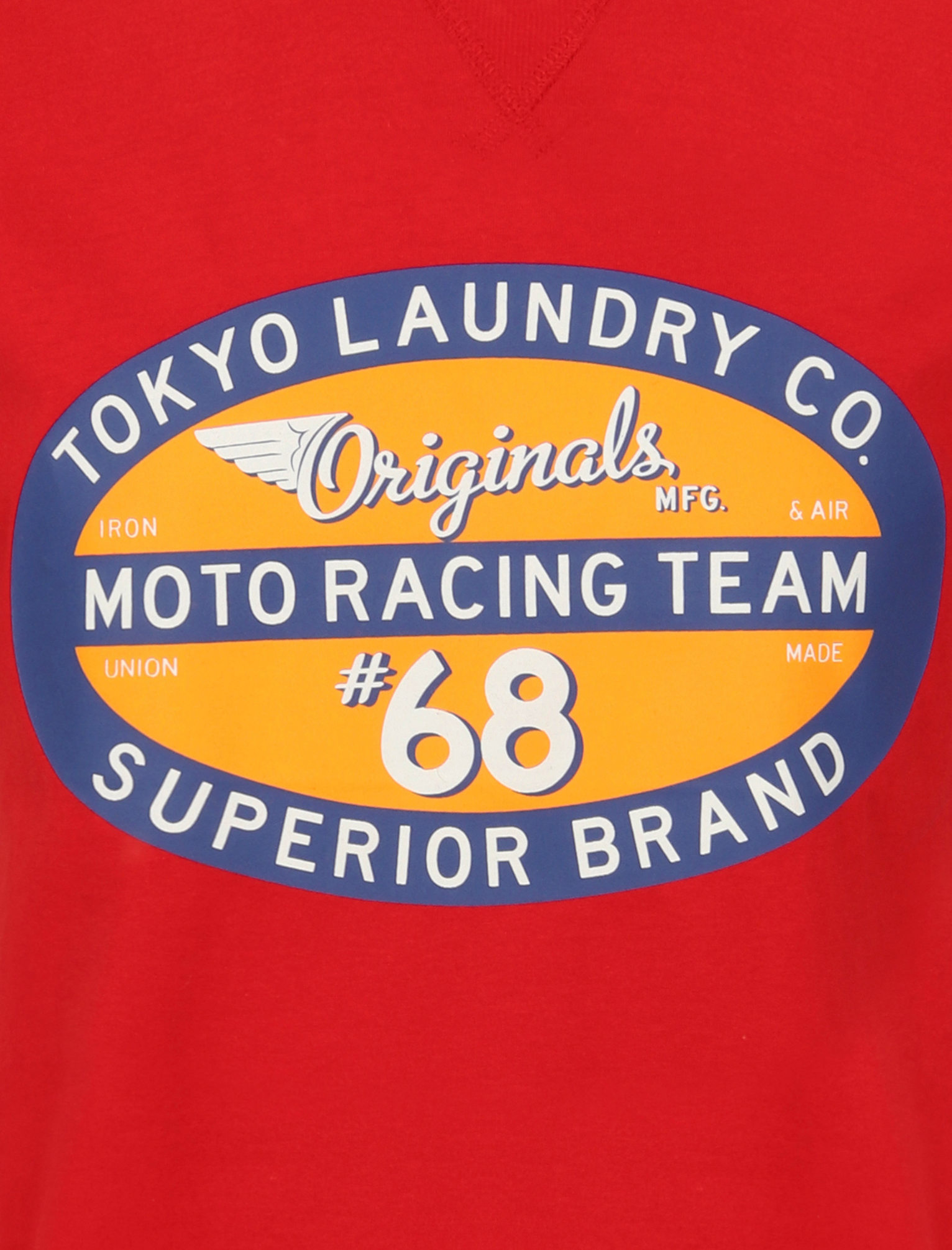 Tokyo-Laundry-Mens-Crew-Neck-T-Shirt-Vintage-Retro-Graphic-Print-Top-Size-S-XXL miniatura 13