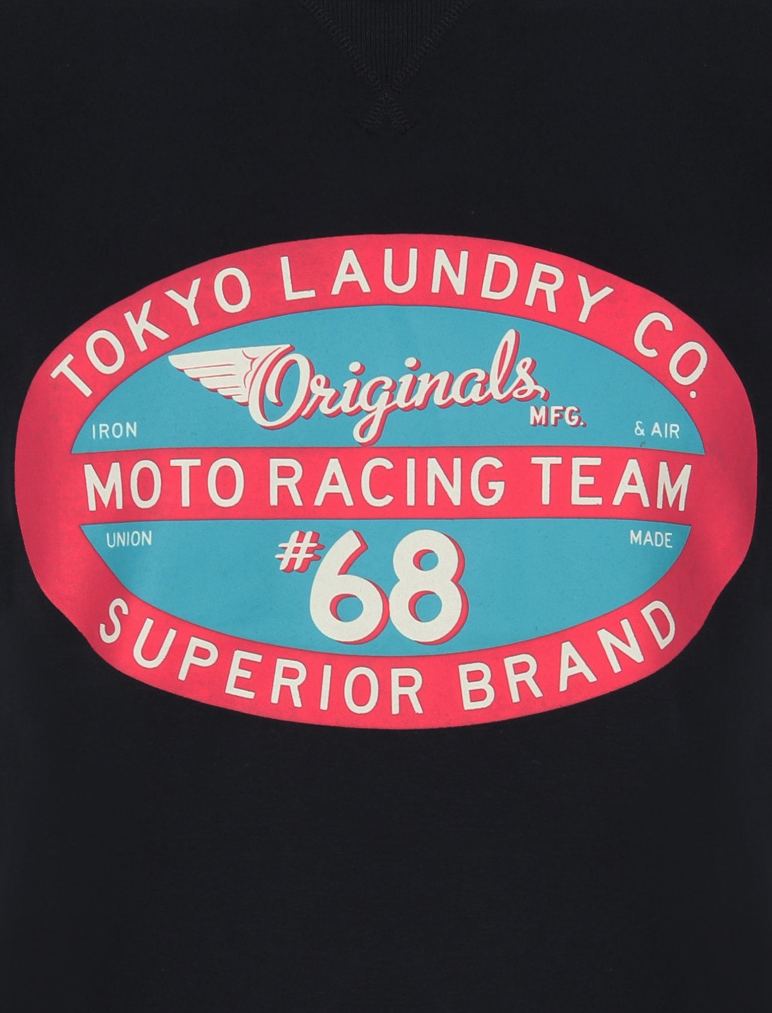 Tokyo-Laundry-Mens-Crew-Neck-T-Shirt-Vintage-Retro-Graphic-Print-Top-Size-S-XXL miniatura 8