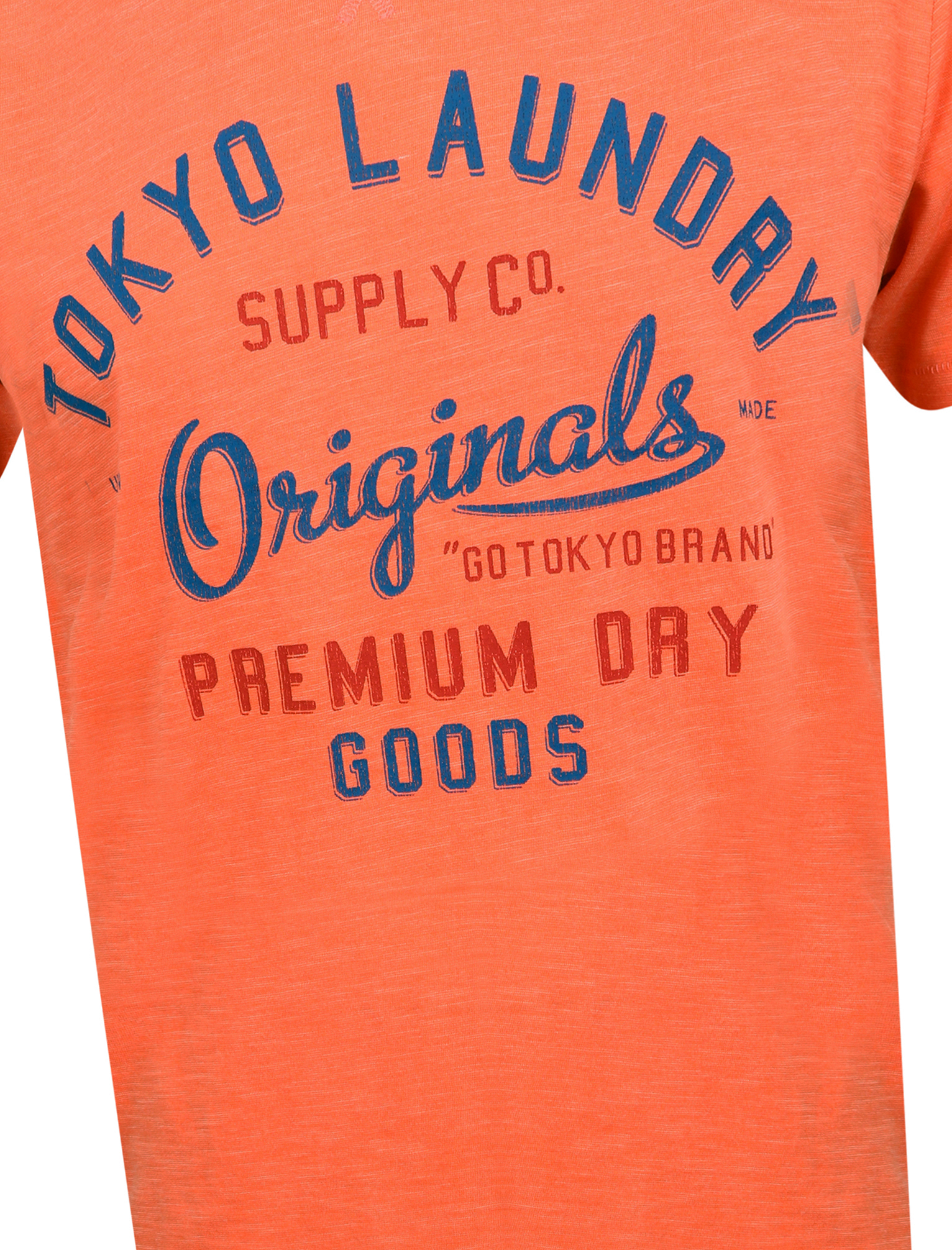 Tokyo-Laundry-Mens-Crew-Neck-T-Shirt-Vintage-Retro-Graphic-Print-Top-Size-S-XXL miniatura 89