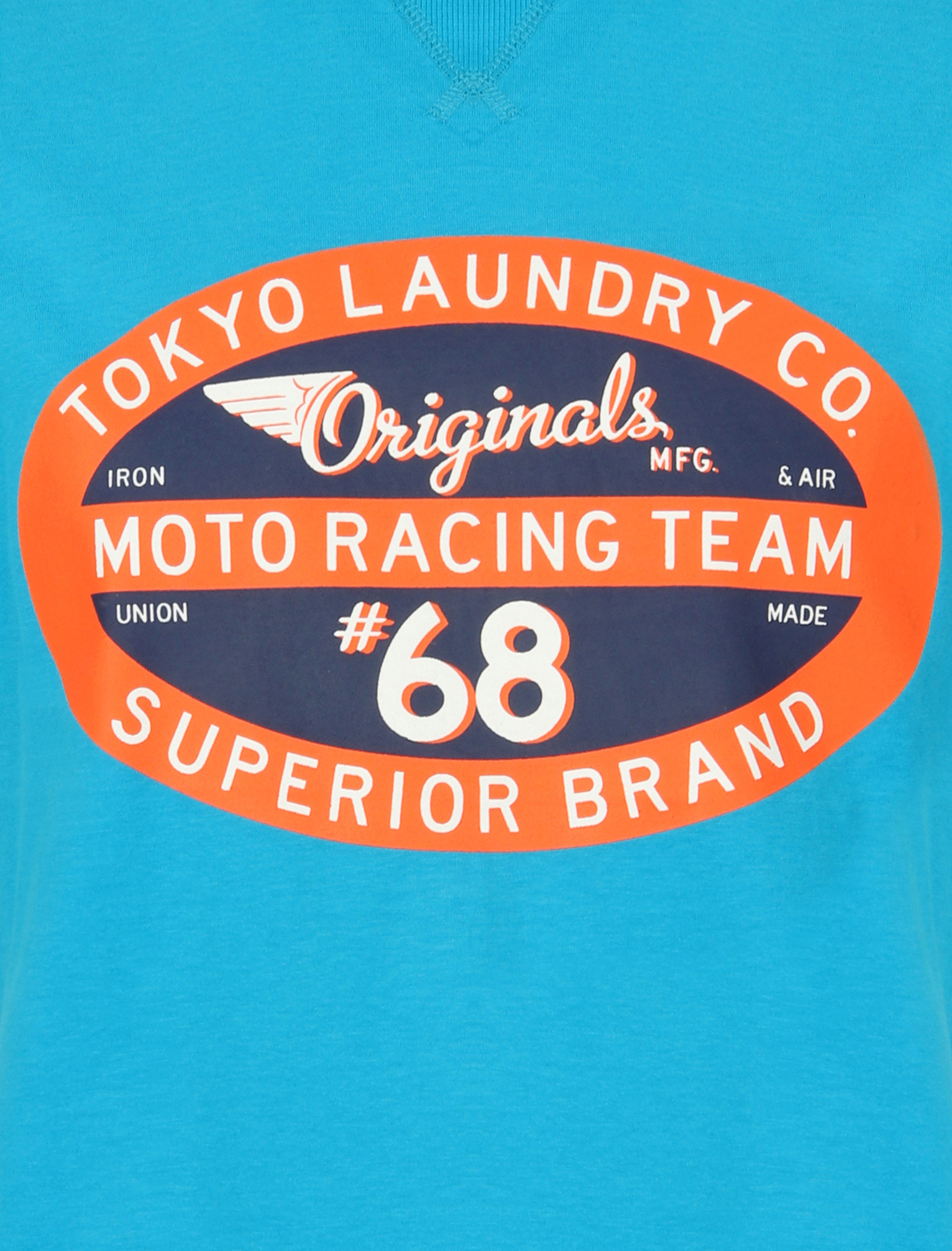 Tokyo-Laundry-Mens-Crew-Neck-T-Shirt-Vintage-Retro-Graphic-Print-Top-Size-S-XXL miniatura 16