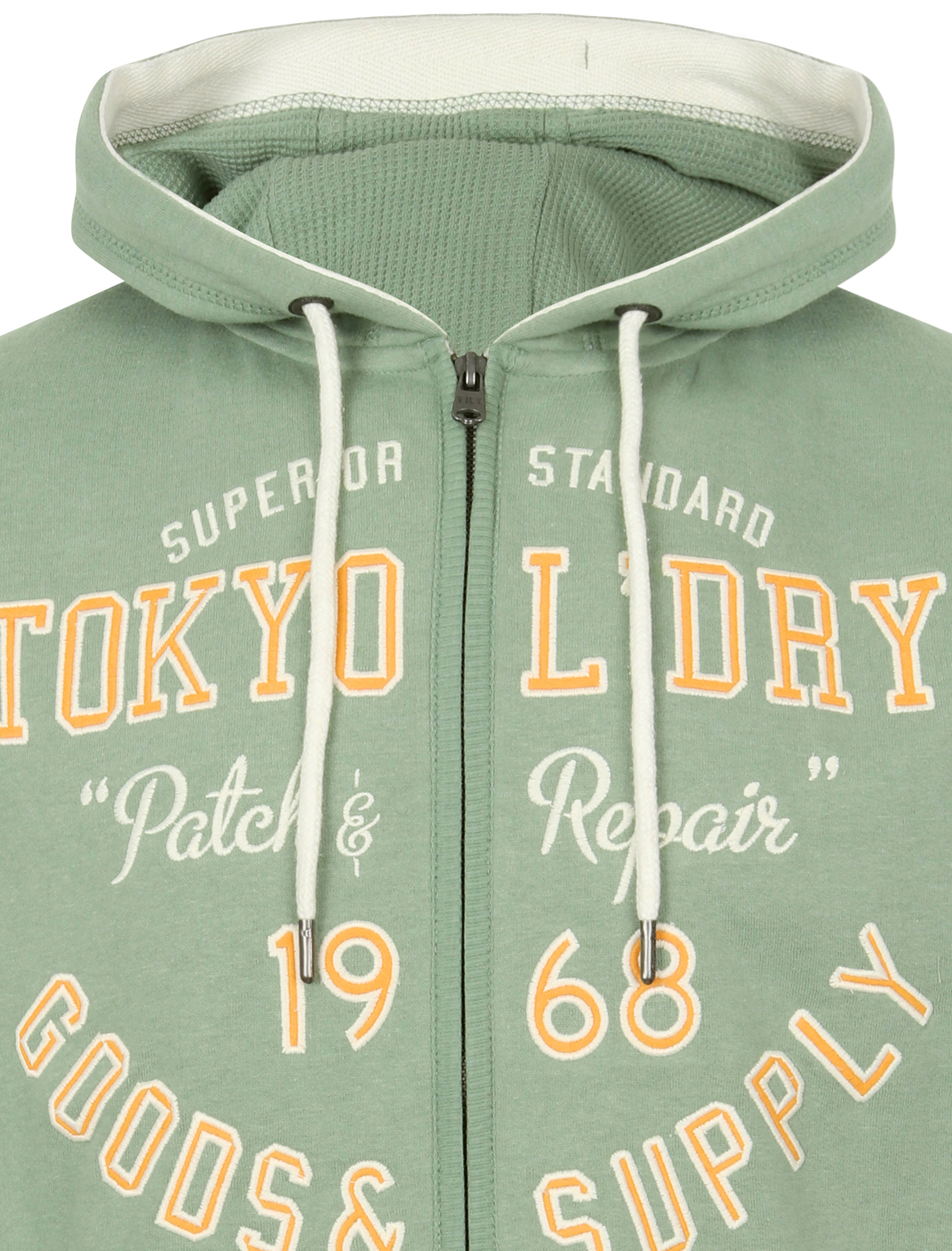 Tokyo-Laundry-Men-039-s-Harper-Zip-Up-Hoodie-Hooded-Top-Sweatshirt-Sweater-Jacket thumbnail 12