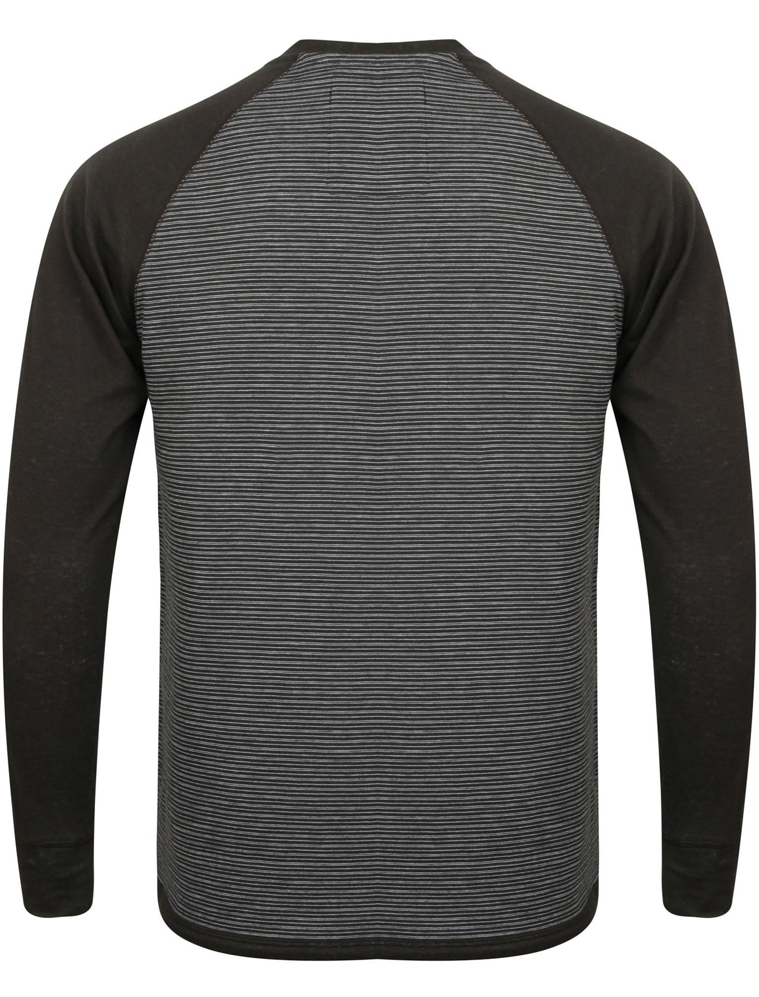 New-Mens-Tokyo-Laundry-Sephro-Raglan-Long-Sleeve-Henley-T-shirt-Top-Size-S-XL thumbnail 5
