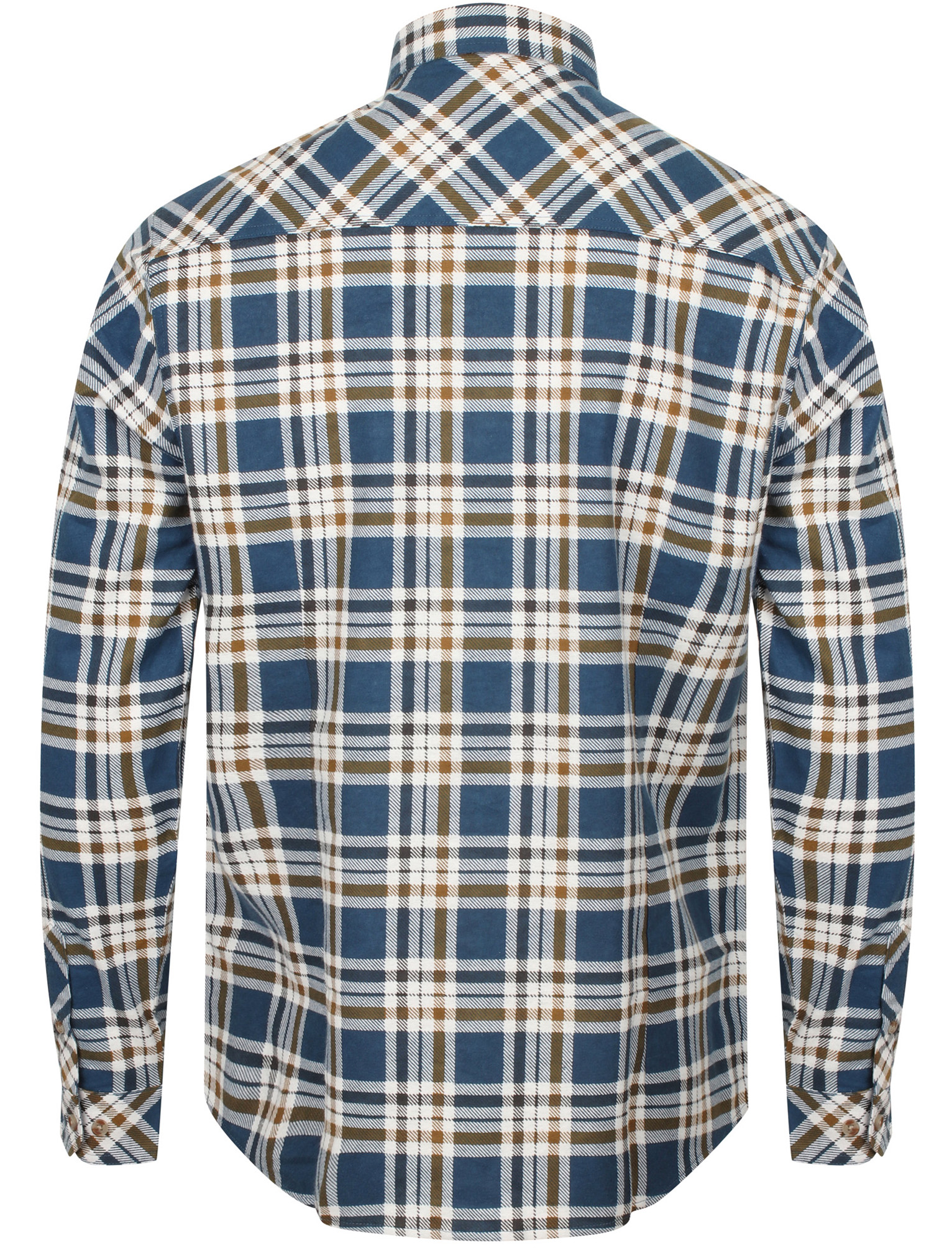 New-Mens-Tokyo-Laundry-Cotton-Long-Sleeve-Checked-Flannel-Shirt-Size-S-XL thumbnail 34