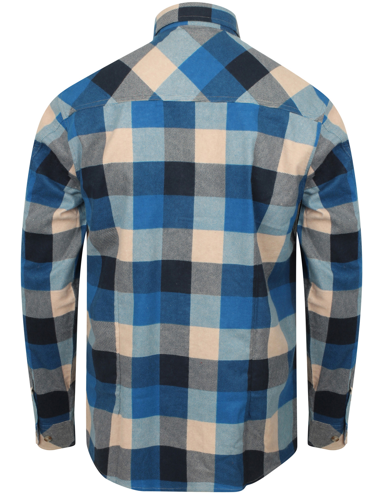 New-Mens-Tokyo-Laundry-Cotton-Long-Sleeve-Checked-Flannel-Shirt-Size-S-XXL thumbnail 25