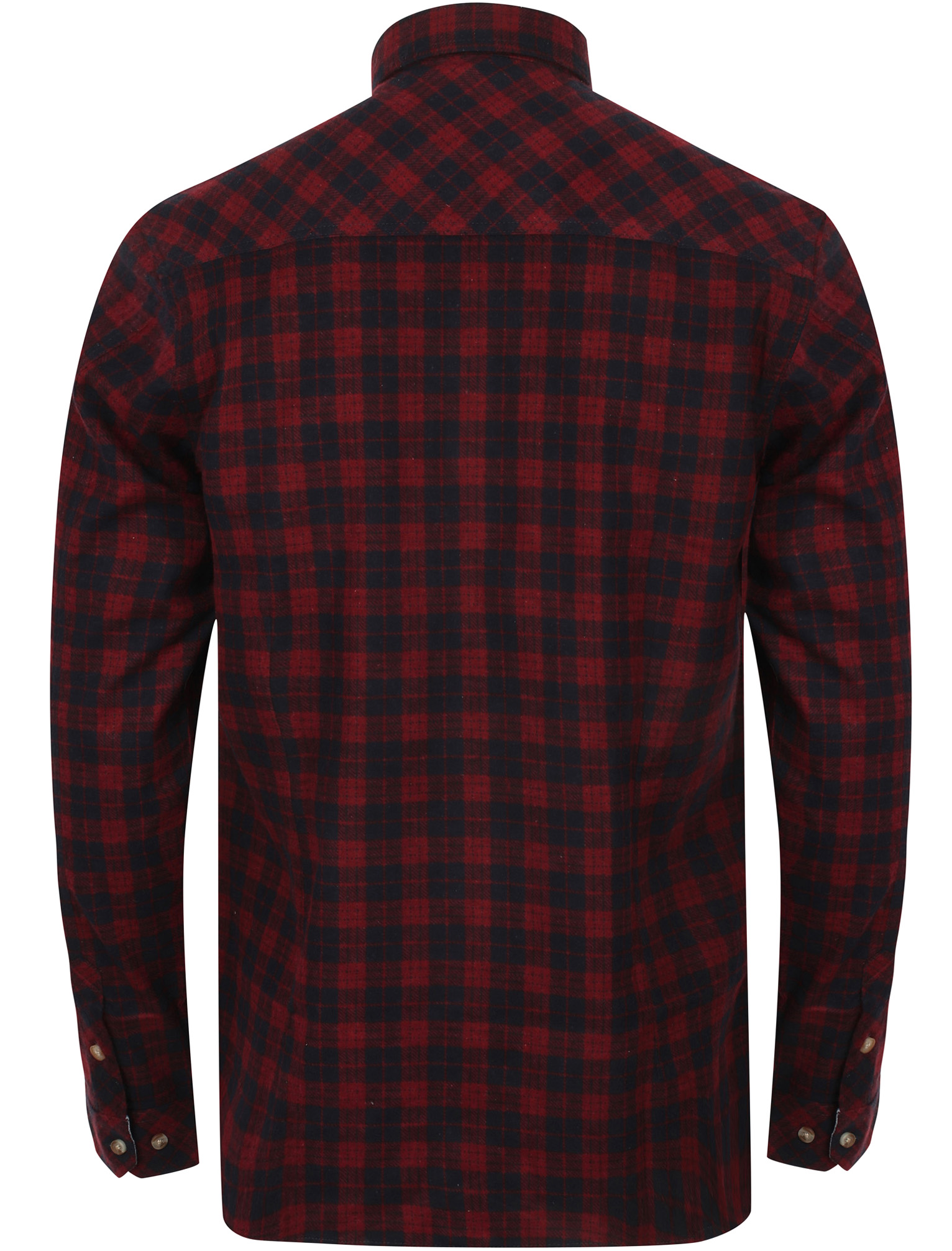 New-Mens-Tokyo-Laundry-Cotton-Long-Sleeve-Checked-Flannel-Shirt-Size-S-XL thumbnail 16
