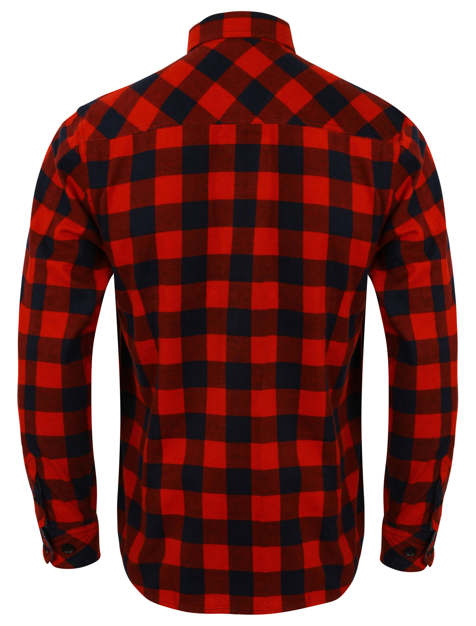 New-Mens-Tokyo-Laundry-Cotton-Long-Sleeve-Checked-Flannel-Shirt-Size-S-XL thumbnail 3