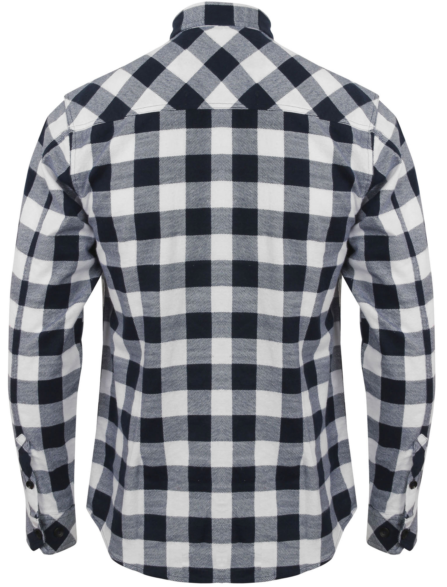 New-Mens-Tokyo-Laundry-Cotton-Long-Sleeve-Checked-Flannel-Shirt-Size-S-XL thumbnail 9