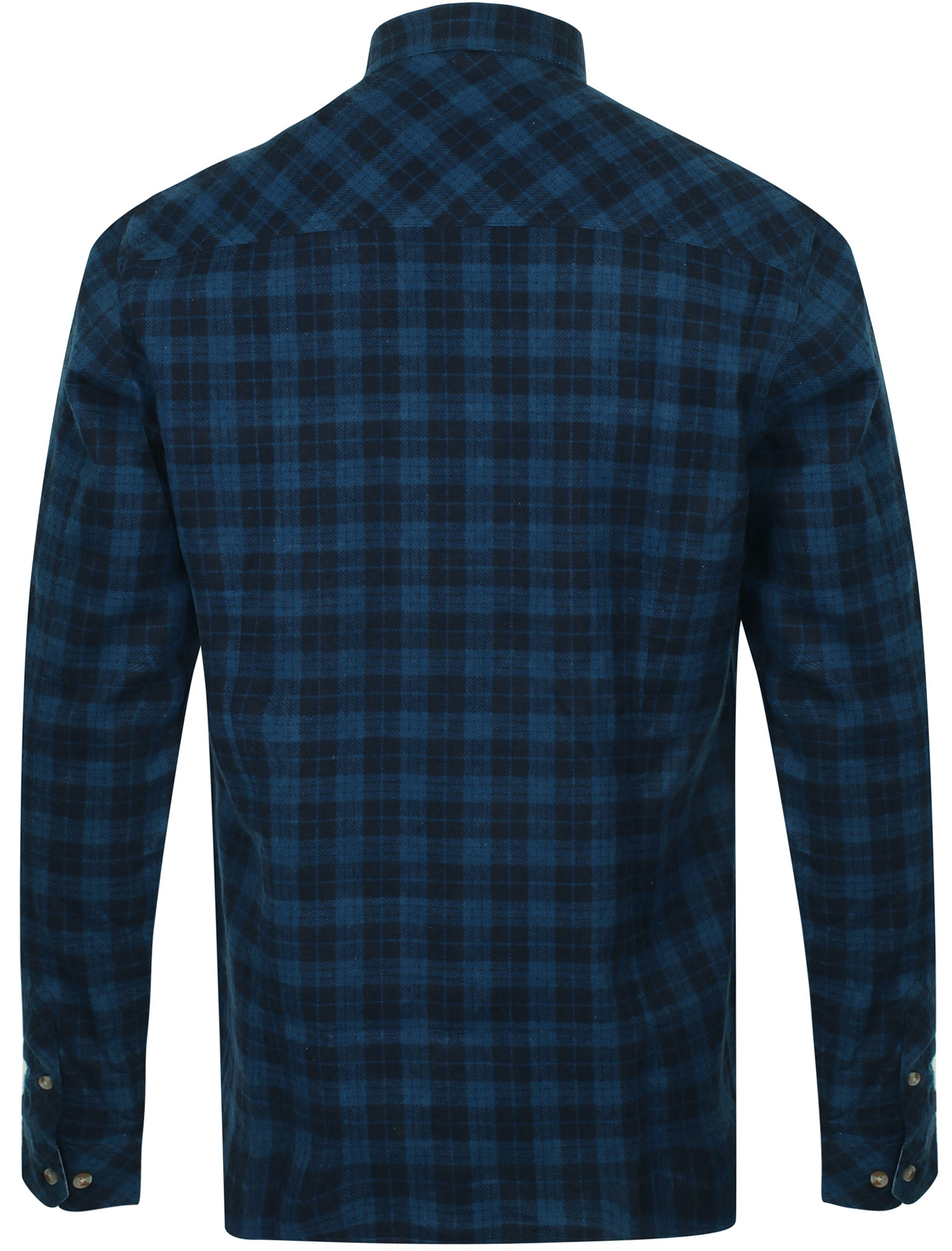 New-Mens-Tokyo-Laundry-Cotton-Long-Sleeve-Checked-Flannel-Shirt-Size-S-XL thumbnail 13