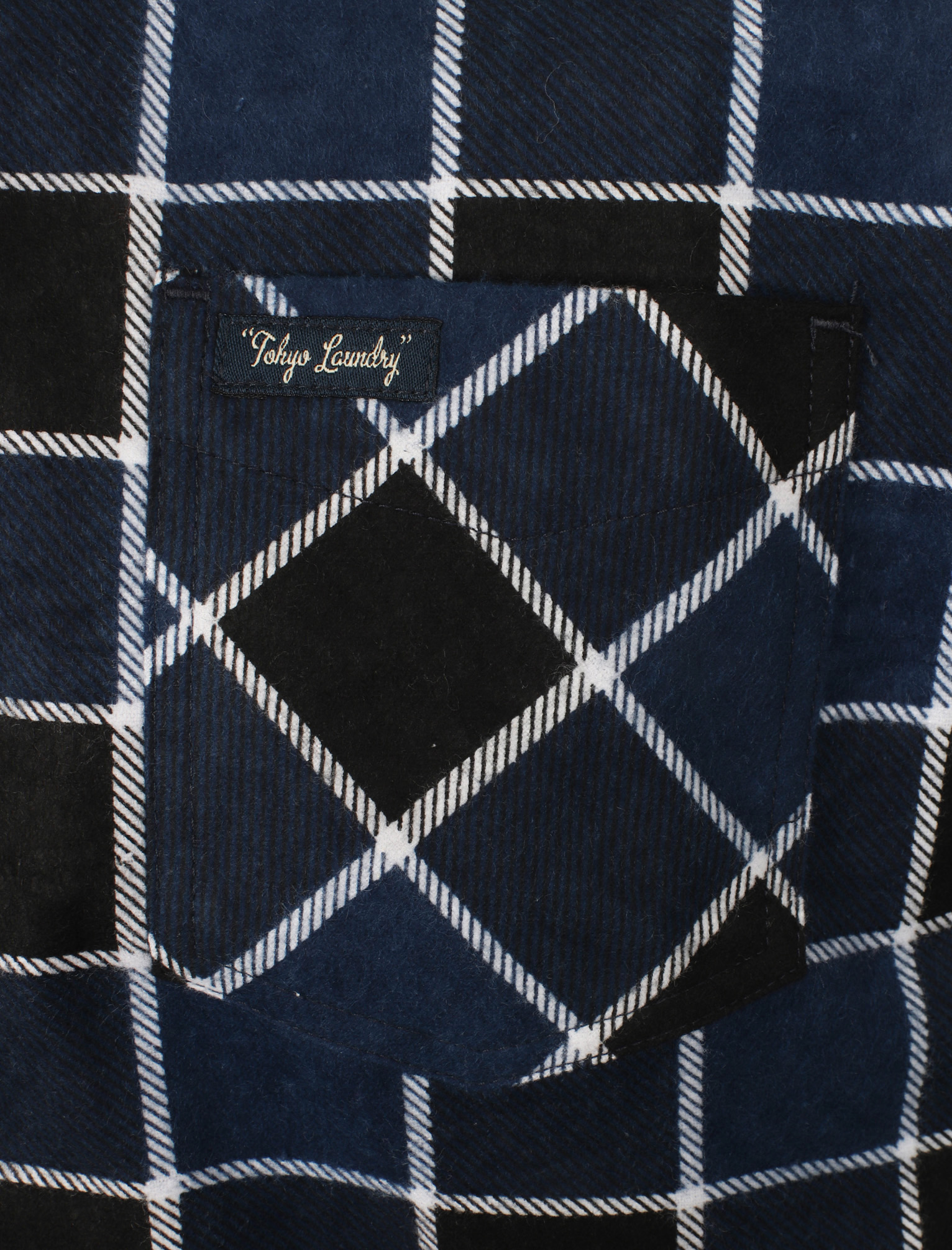 New-Mens-Tokyo-Laundry-Cotton-Long-Sleeve-Checked-Flannel-Shirt-Size-S-XXL thumbnail 5