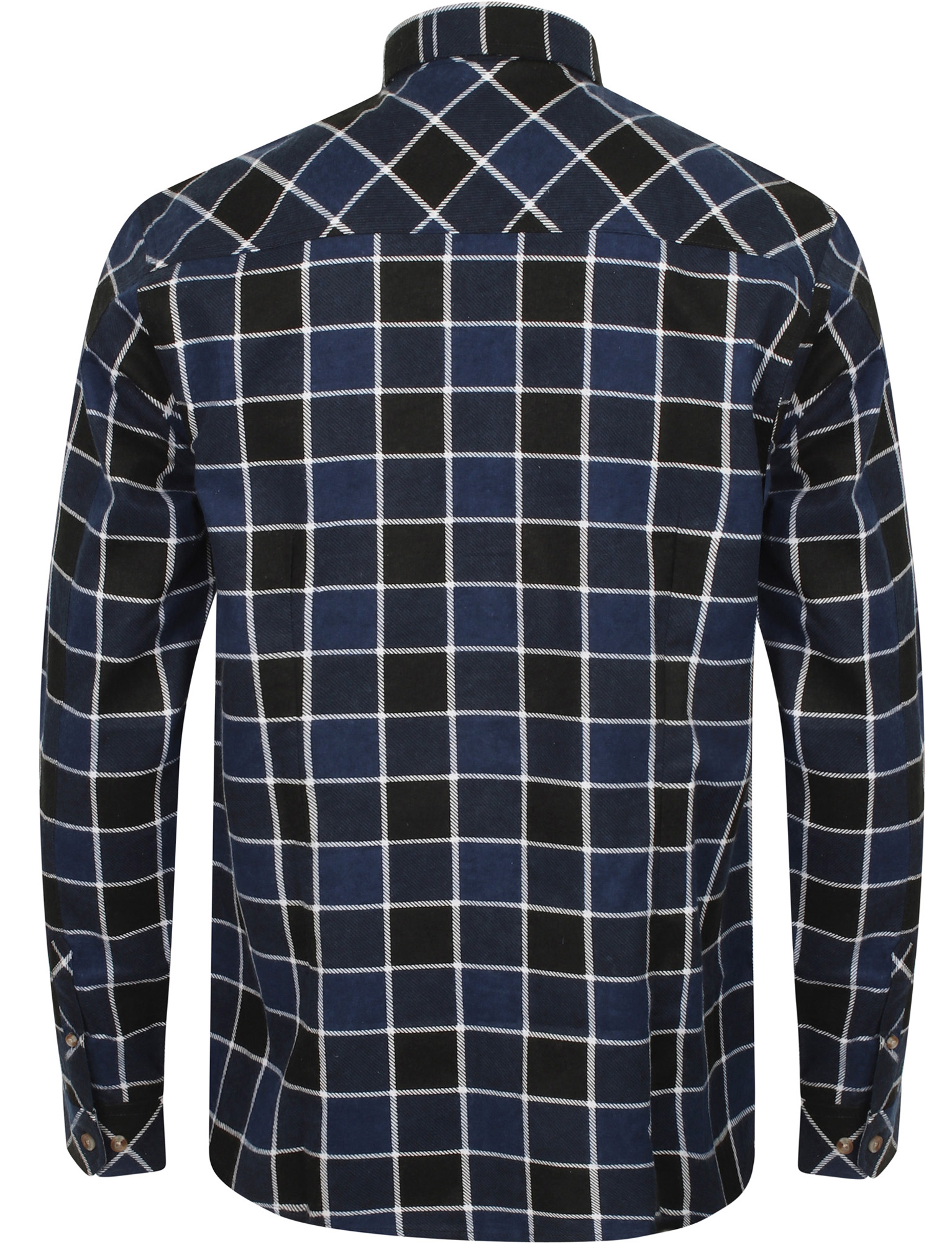 New-Mens-Tokyo-Laundry-Cotton-Long-Sleeve-Checked-Flannel-Shirt-Size-S-XL thumbnail 21