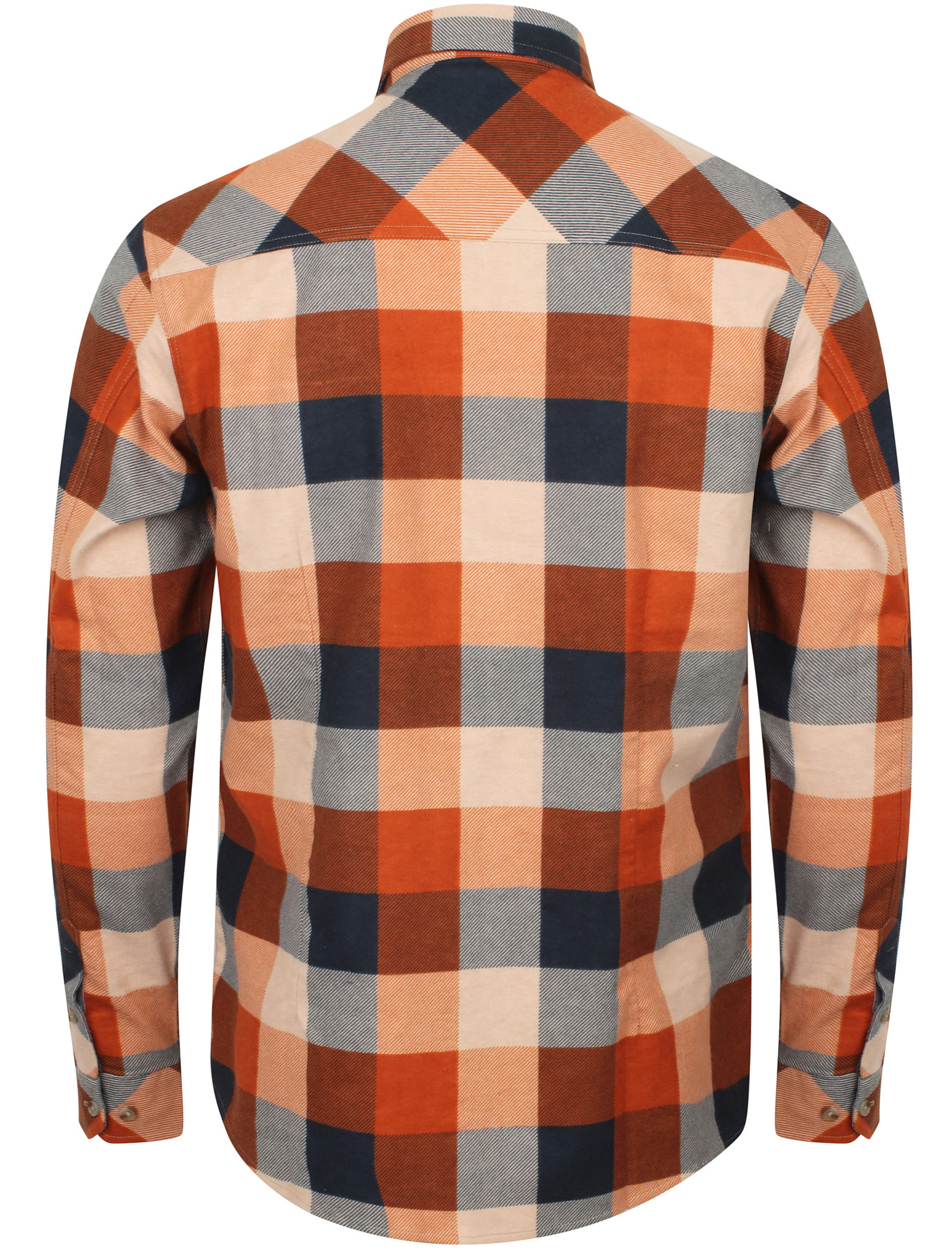 New-Mens-Tokyo-Laundry-Cotton-Long-Sleeve-Checked-Flannel-Shirt-Size-S-XL thumbnail 38