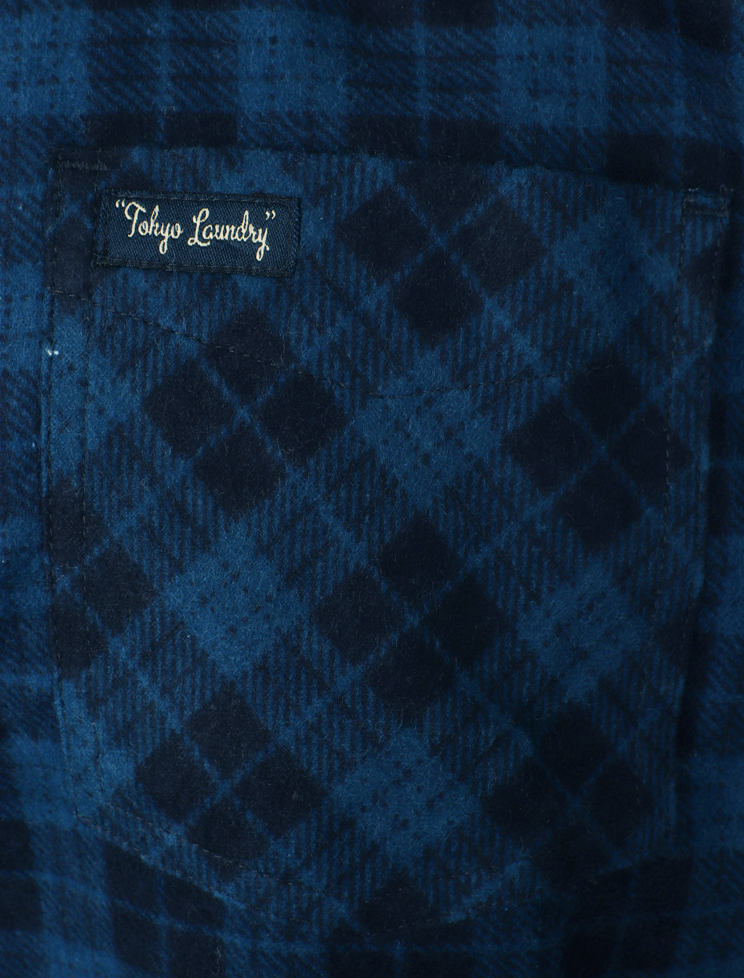 New-Mens-Tokyo-Laundry-Cotton-Long-Sleeve-Checked-Flannel-Shirt-Size-S-XL thumbnail 14