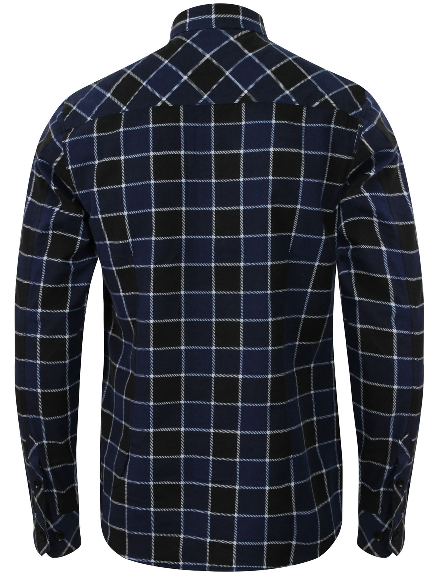 New-Mens-Tokyo-Laundry-Cotton-Long-Sleeve-Checked-Flannel-Shirt-Size-S-XL thumbnail 5