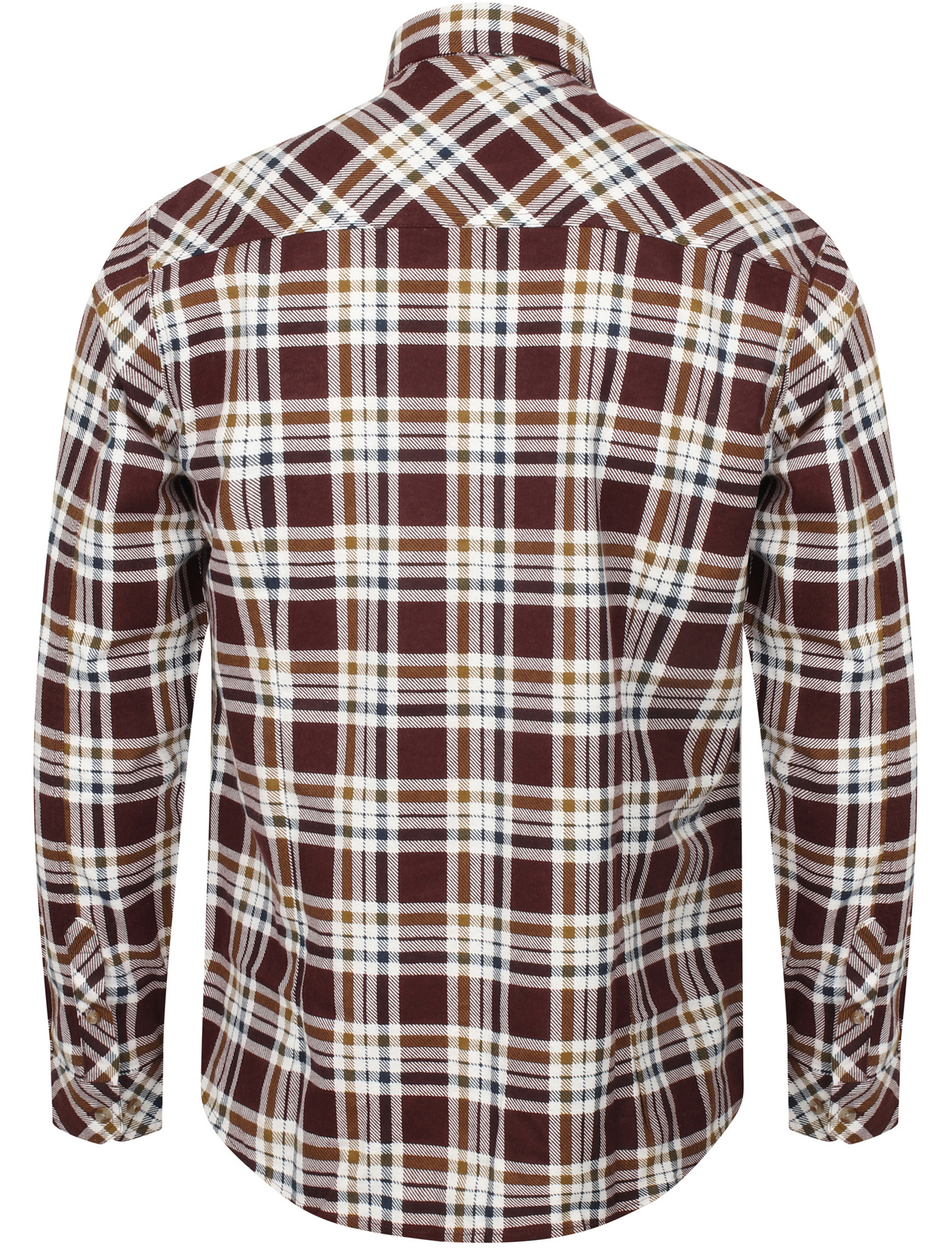 New-Mens-Tokyo-Laundry-Cotton-Long-Sleeve-Checked-Flannel-Shirt-Size-S-XXL thumbnail 12