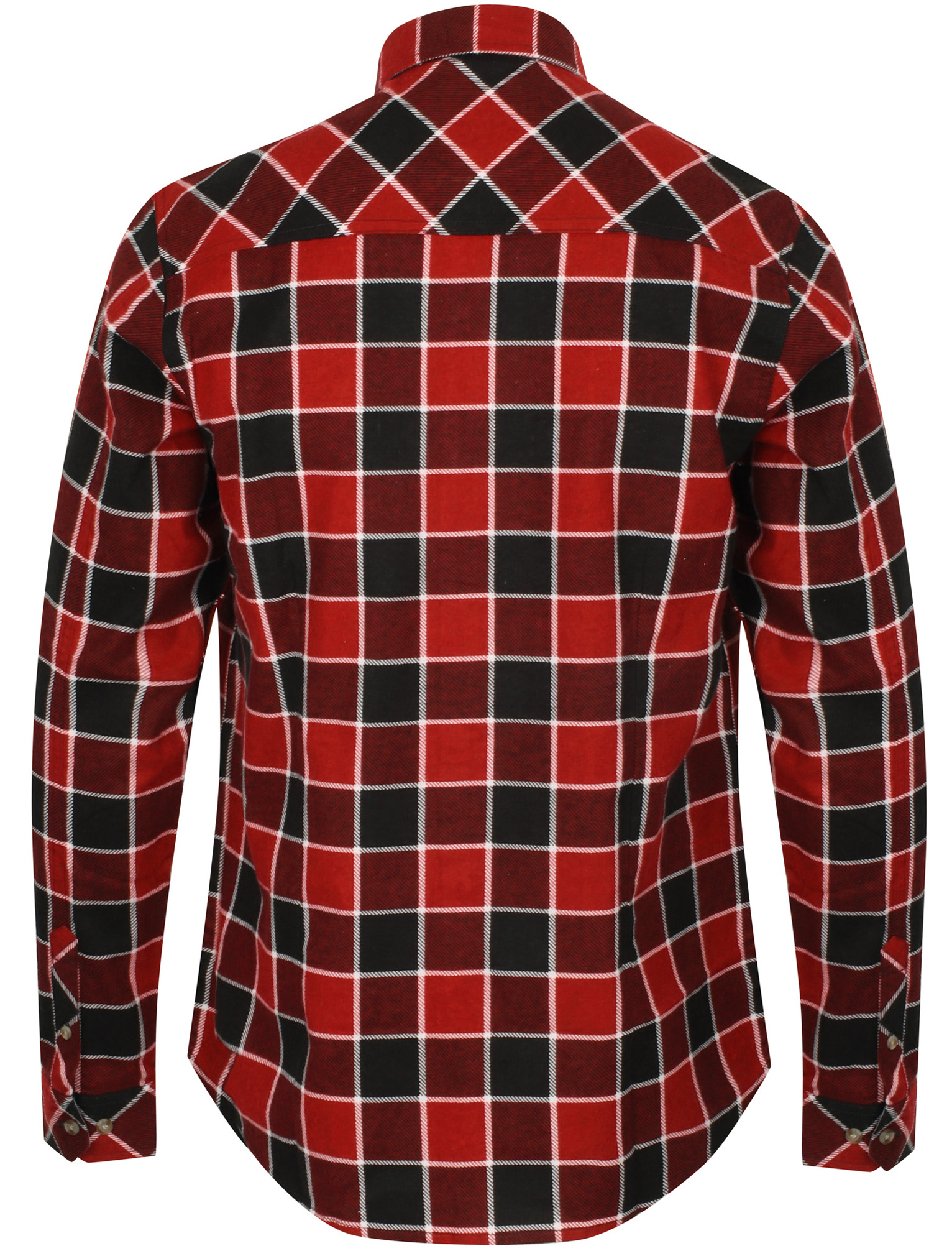 New-Mens-Tokyo-Laundry-Cotton-Long-Sleeve-Checked-Flannel-Shirt-Size-S-XL thumbnail 25